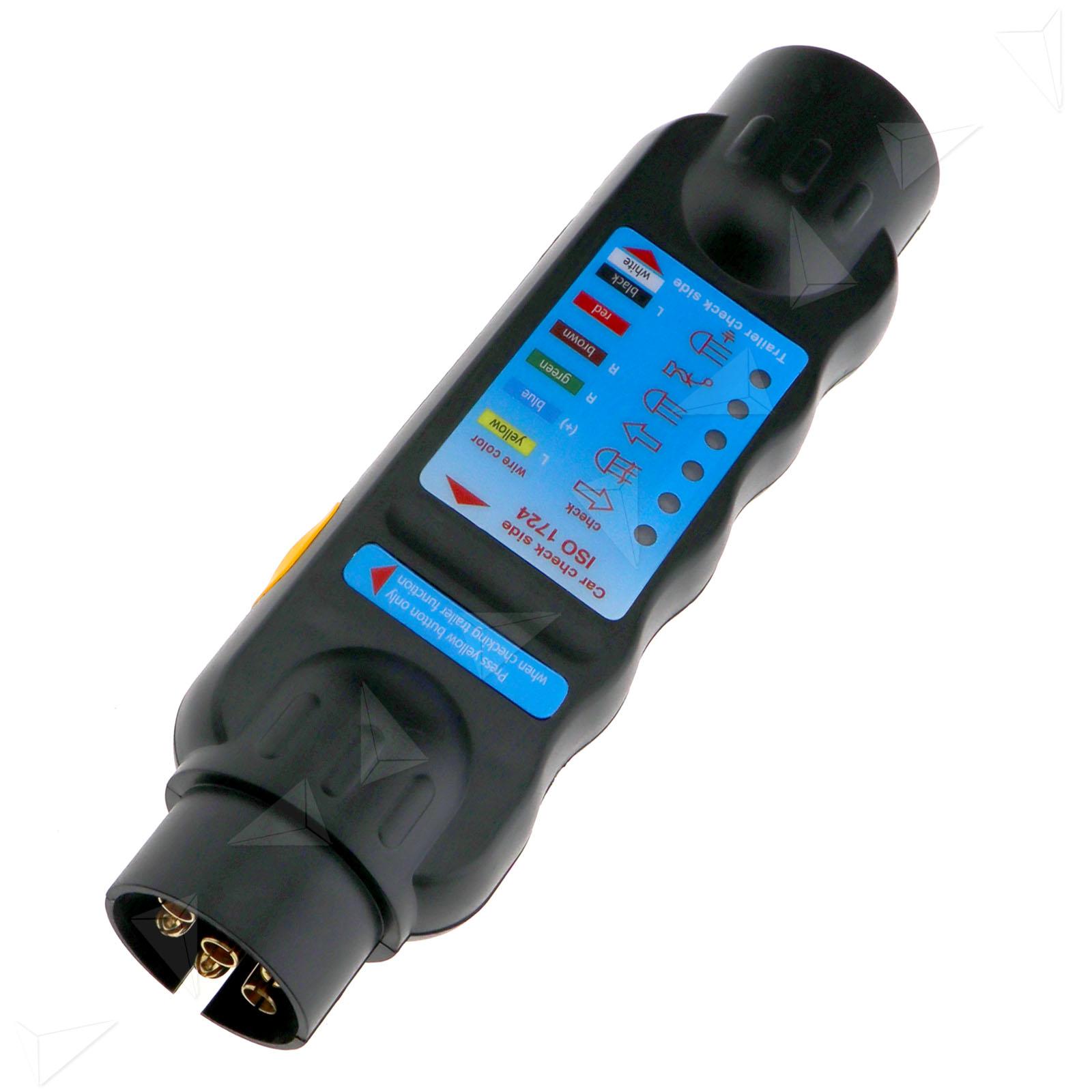Plug In Circuit Tester : Car trailer caravan pin towing tow bar light wiring