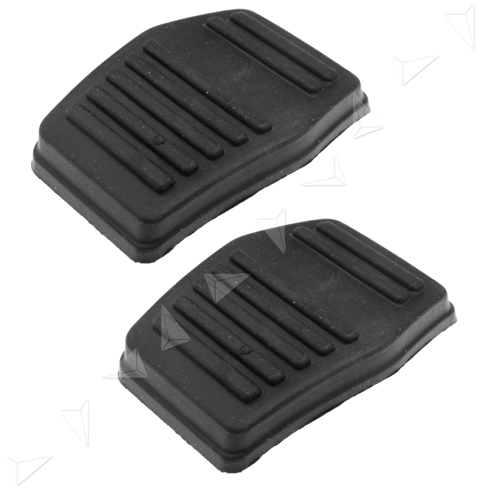 Clutch Pad Material : Black clutch or brake pedal pad rubber cover for ford