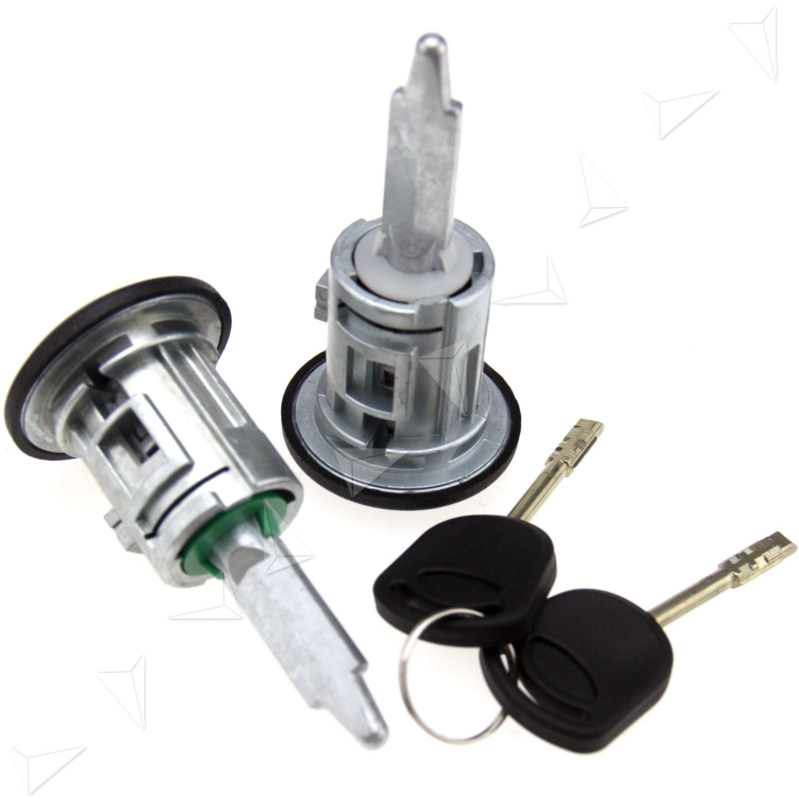 Pair Of Door Lock Barrels Front Door Rh Amp Lh For Ford