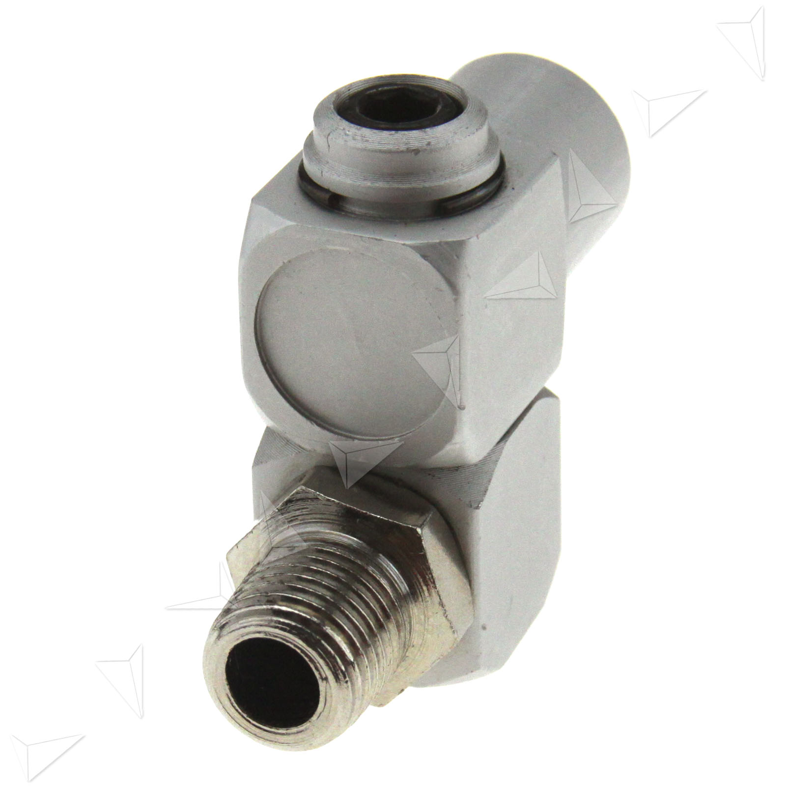 Quot bsp air hose swivel degree fitting connector