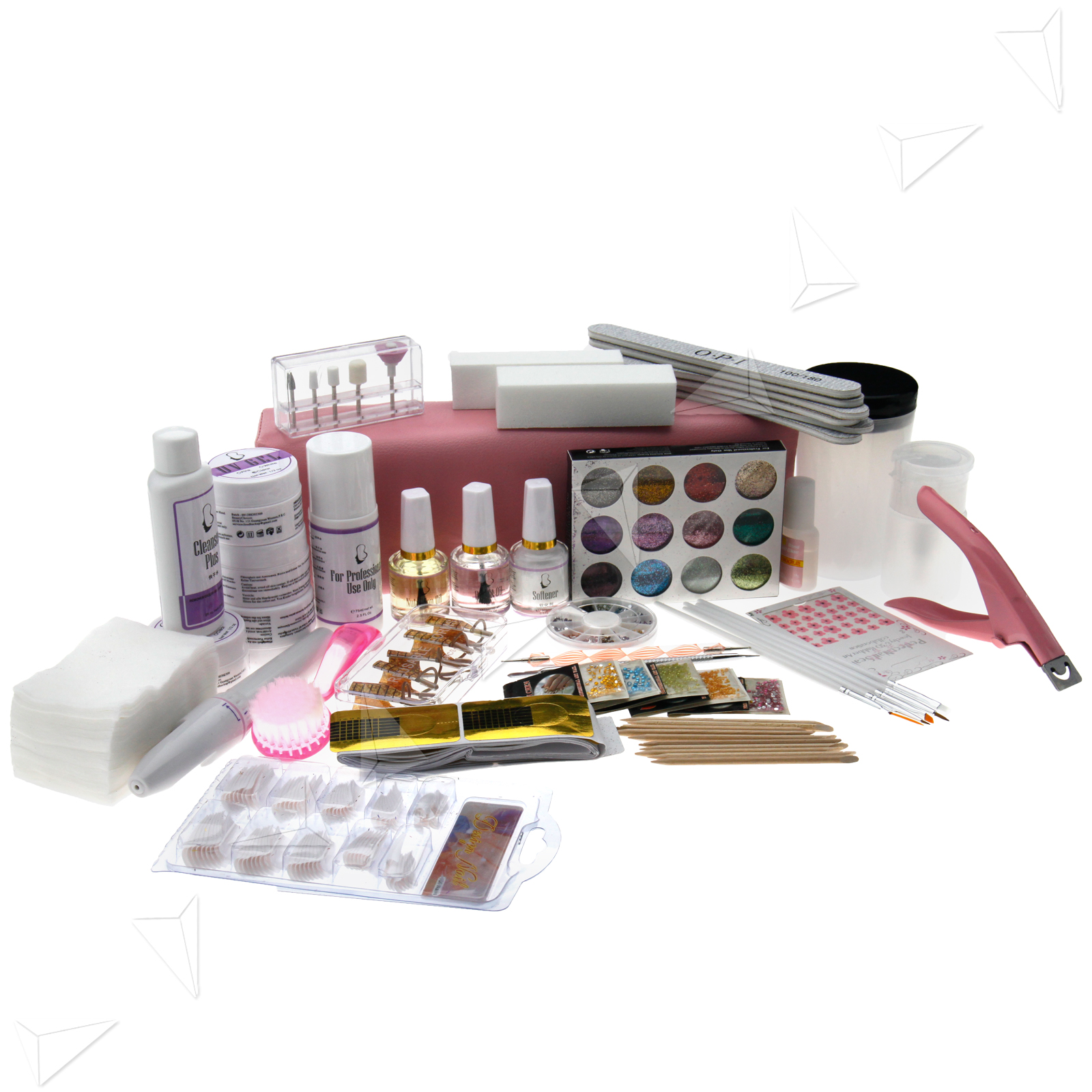 Great! Manicure UV Gel All In One Nail Art Full Kit UK