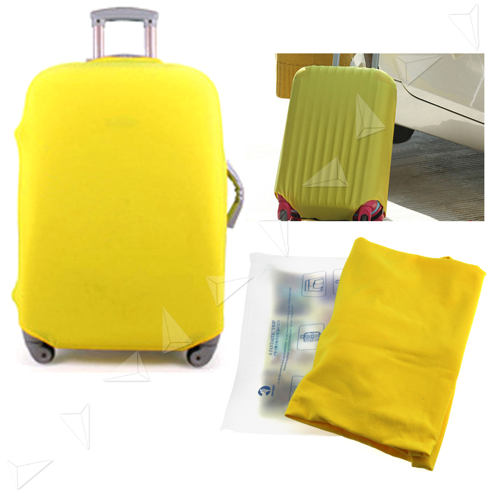 Anti Scratch Luggage Protector Elastic Suitcase Cover Bags ...