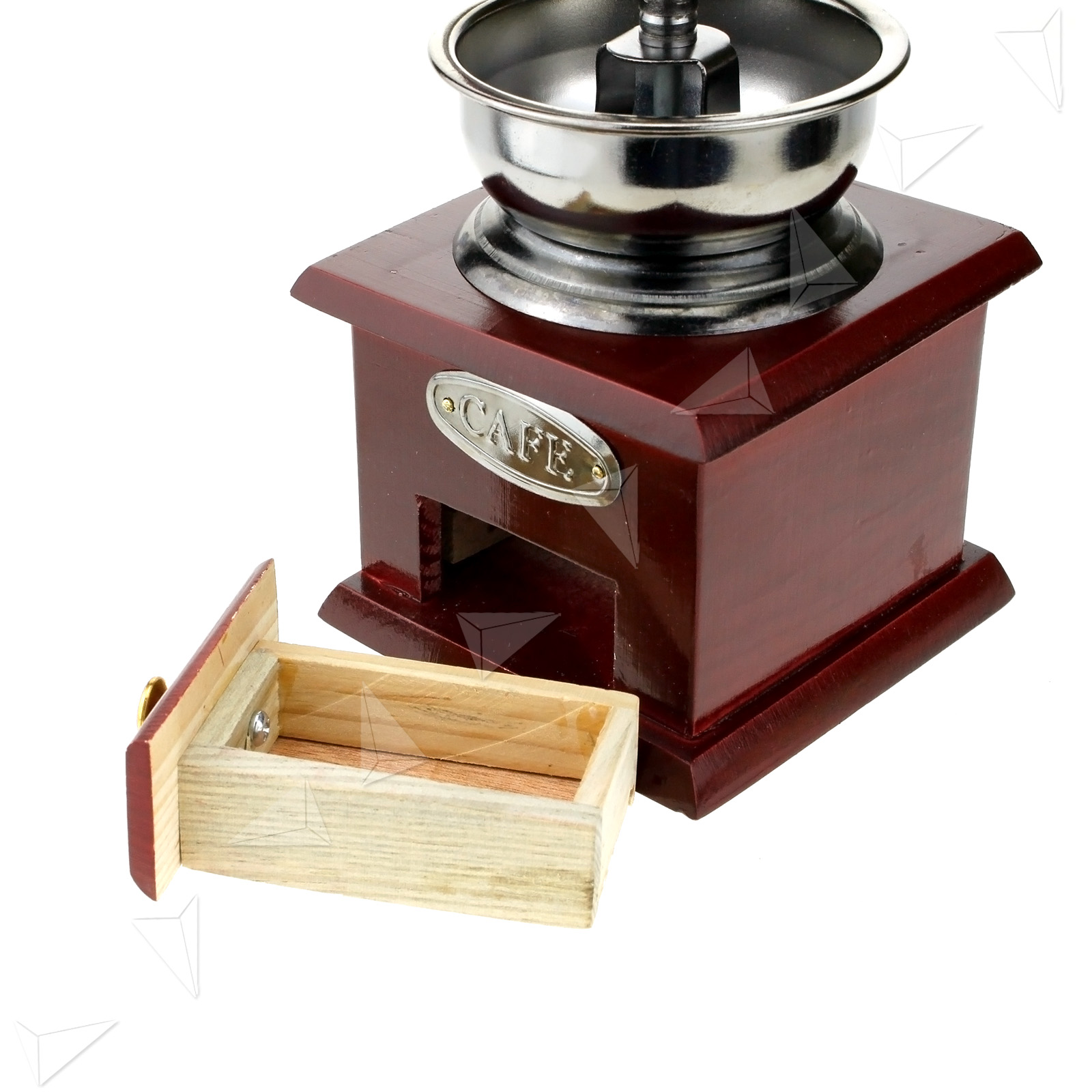 Blade Coffee Grinder ~ Double steel manual rotate handle classical blades coffee