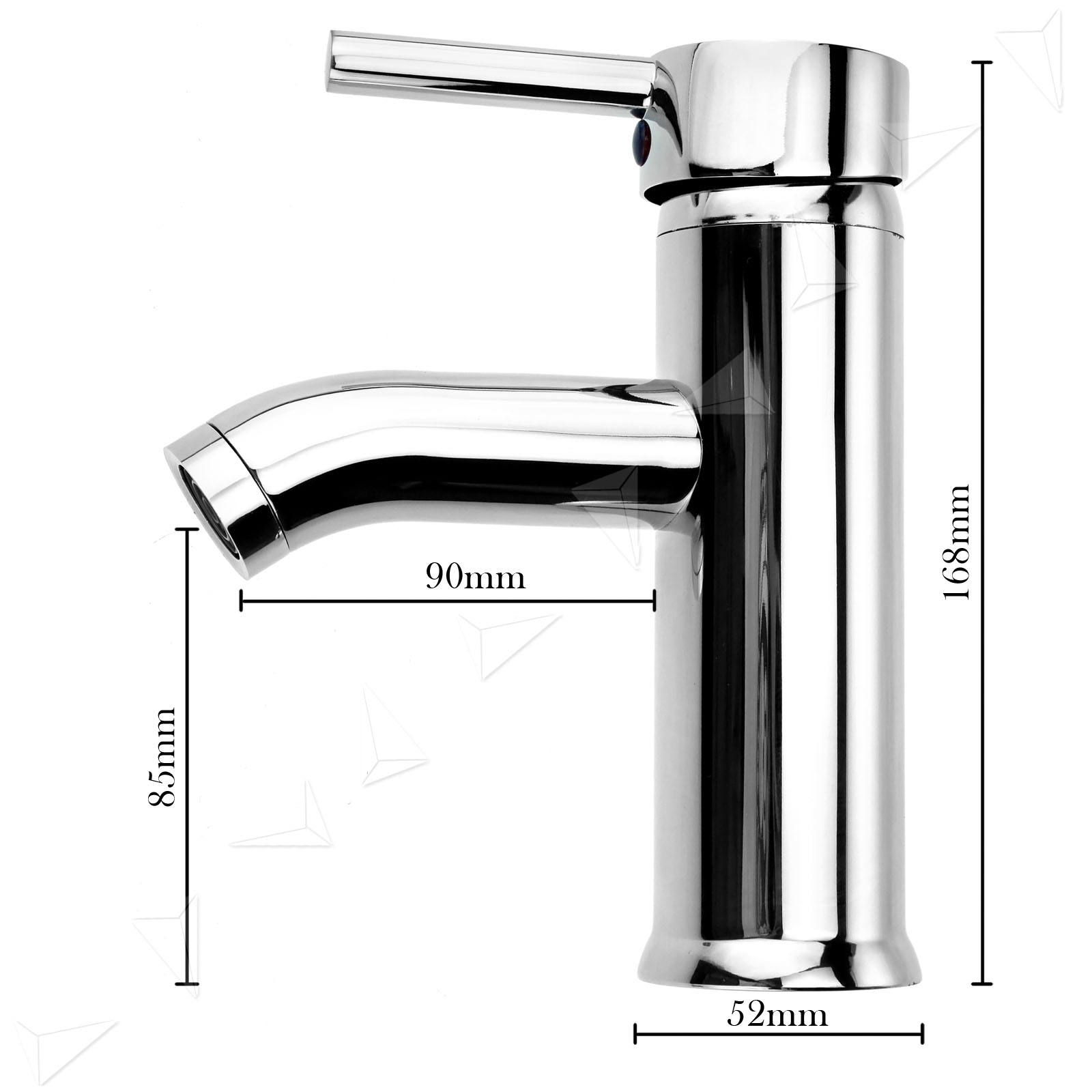 chrome plated brass body kitchen bathroom basin sink mixer. Black Bedroom Furniture Sets. Home Design Ideas