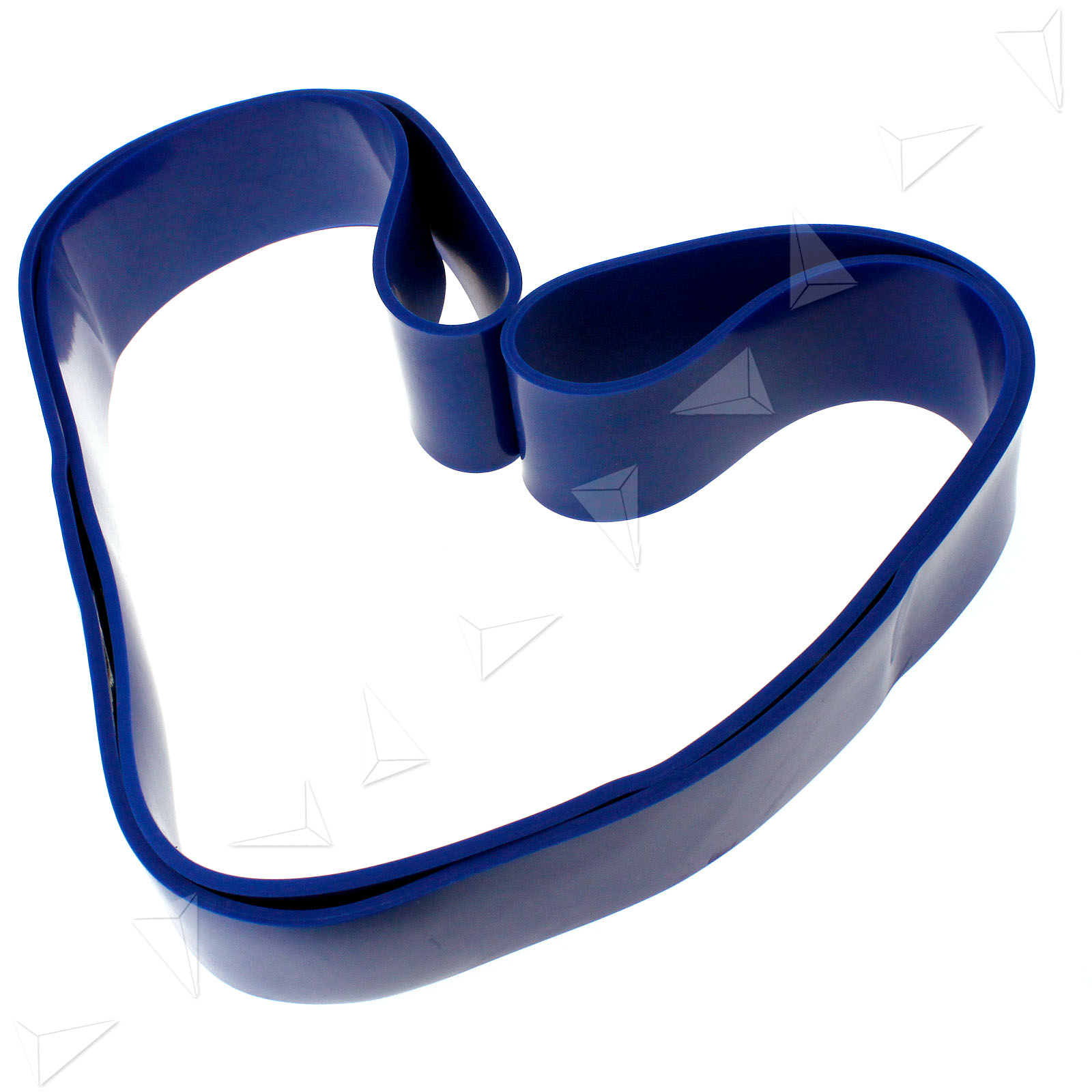 Blue 64mm Resistance Band Gym Fitness Exercise Loop Yoga