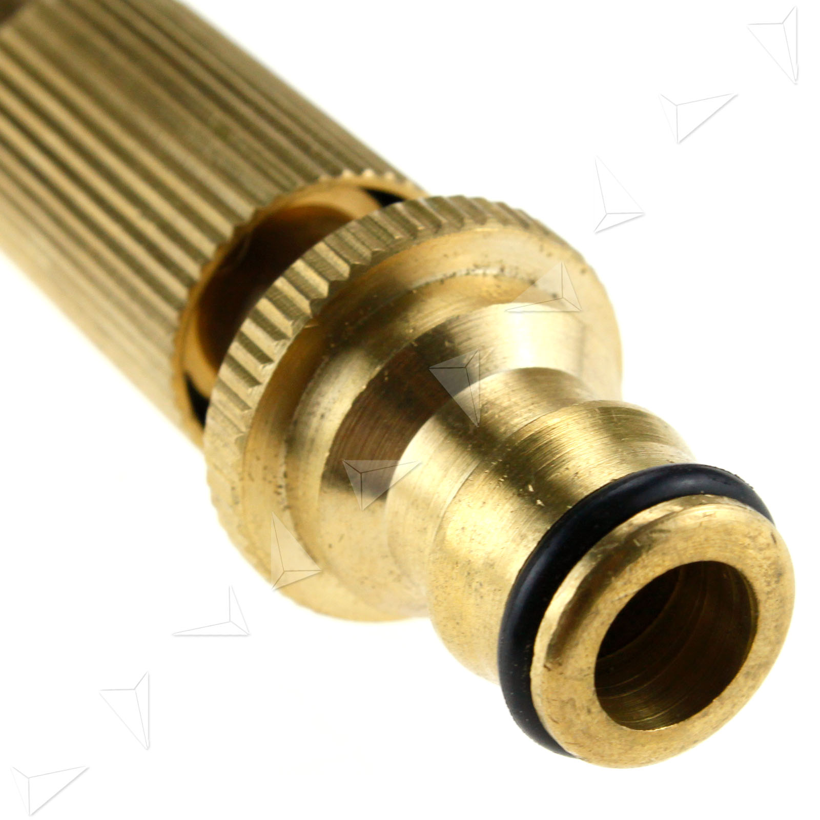 Quick connect adjustable hose spray nozzle solid brass for