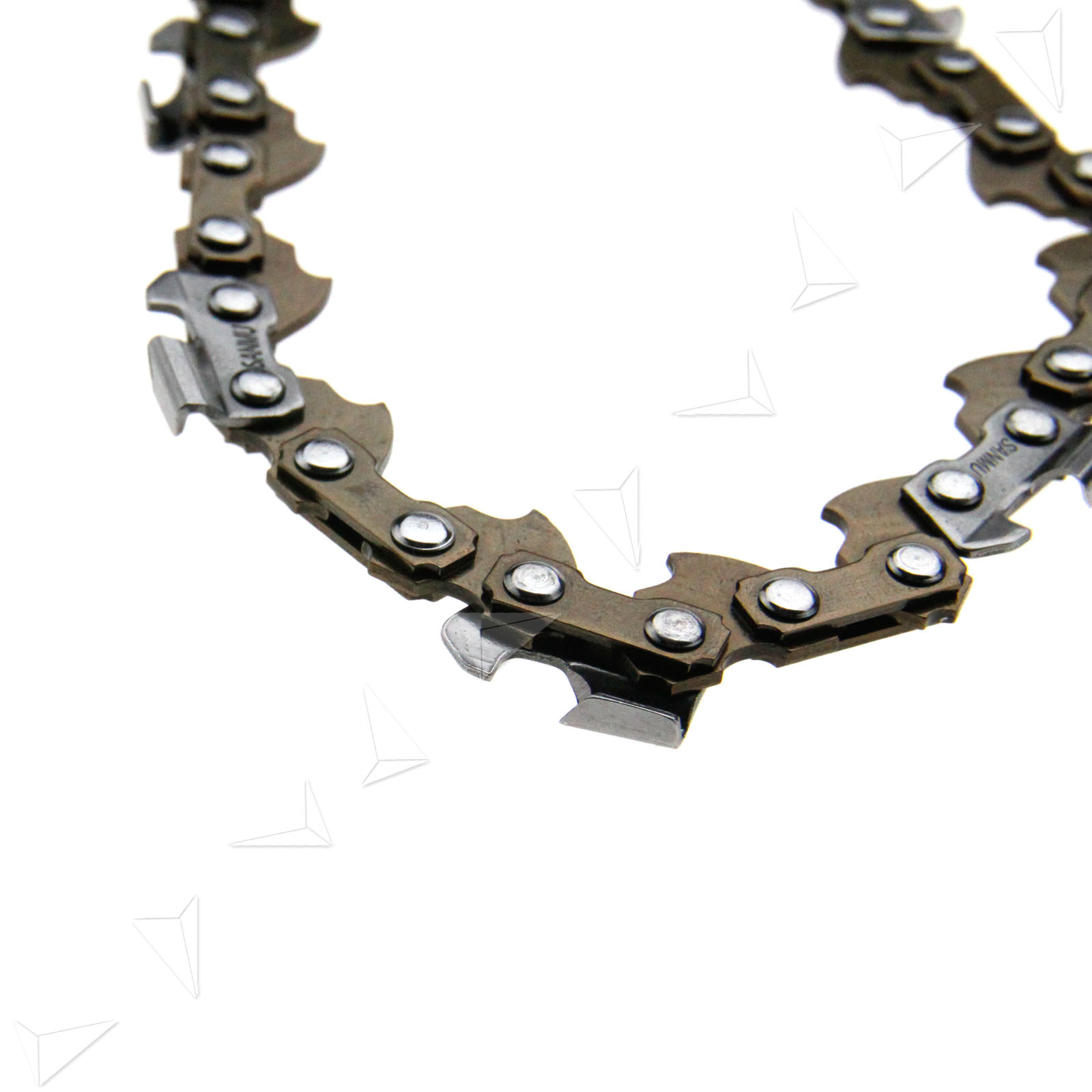how to join chainsaw chain links