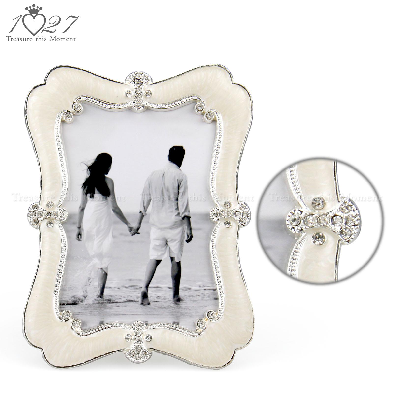 Handmade Silver Photo Picture Frame Simple Elegant Fashion