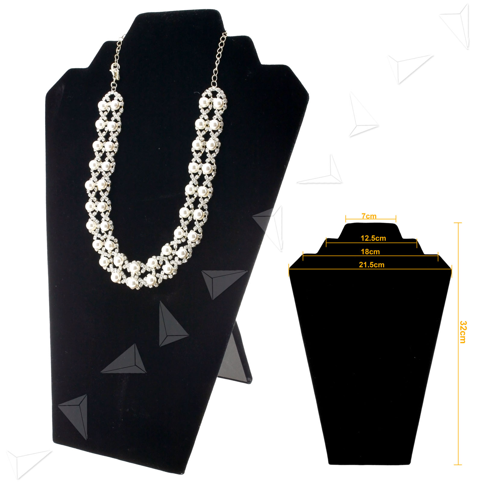 new 2pcs multiple velvet chain jewelry necklace shop. Black Bedroom Furniture Sets. Home Design Ideas