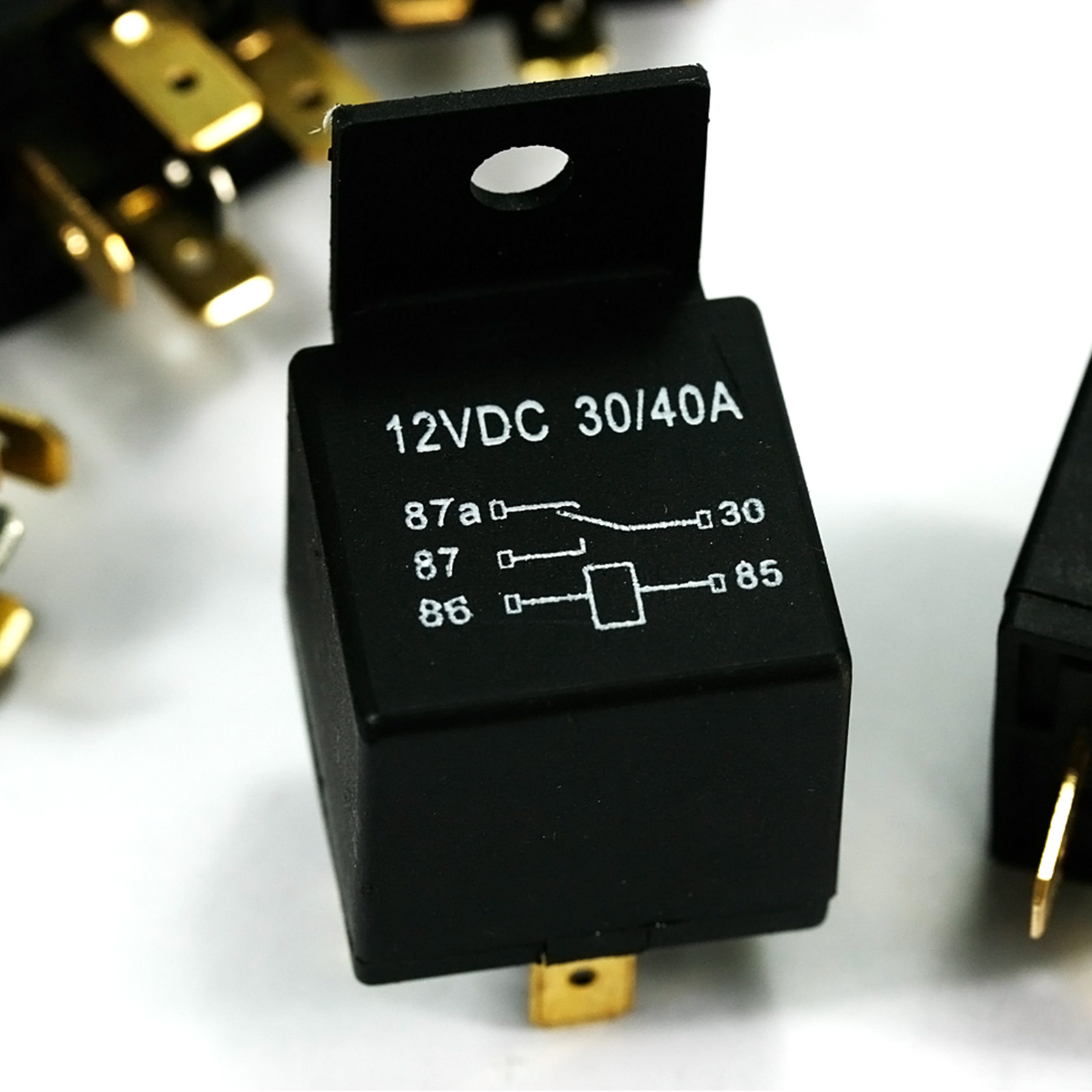 5x 12v 40a Amp Automotive Car Truck Auto 5 Pin Changeover