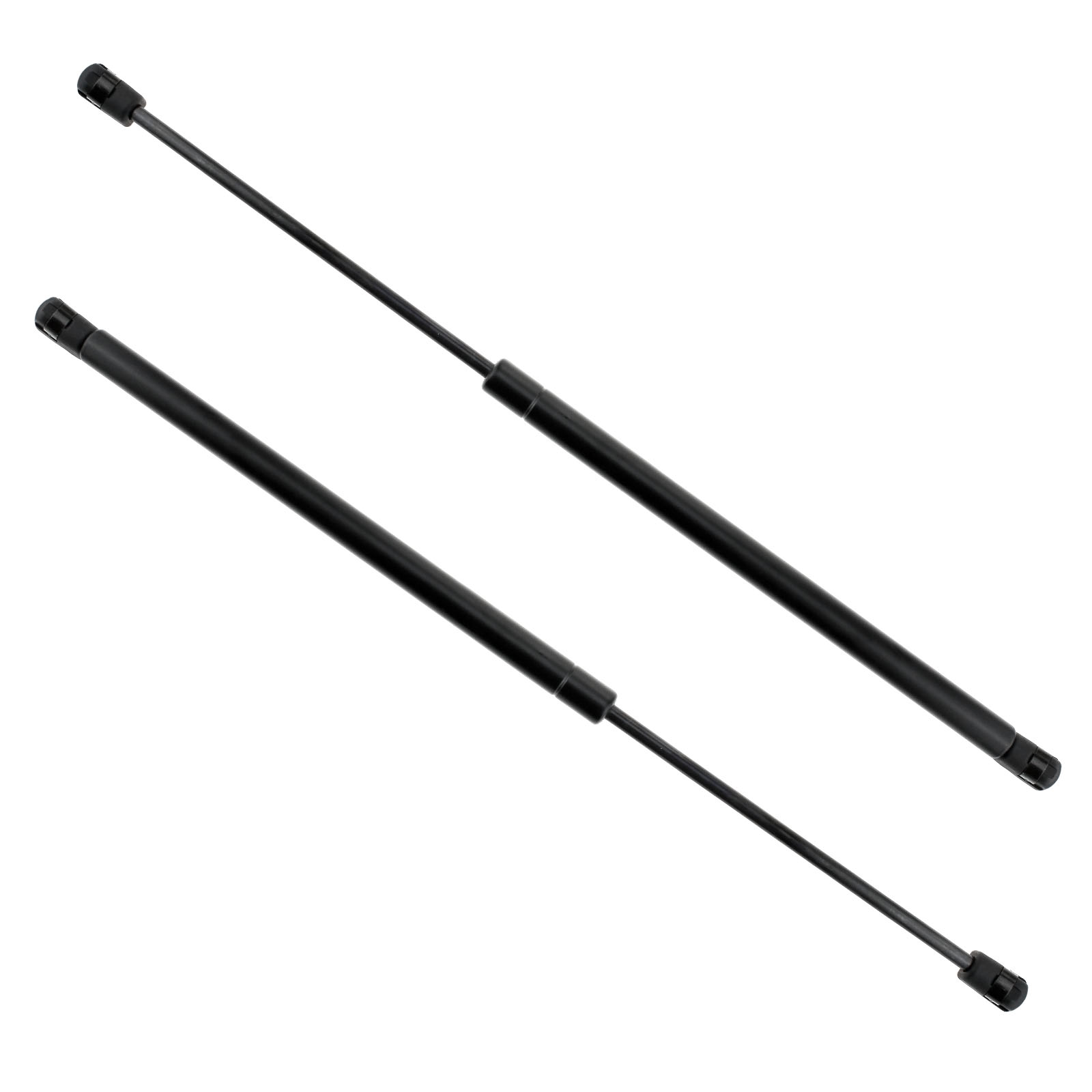 2 x tailgate boot struts gas springs holder set for
