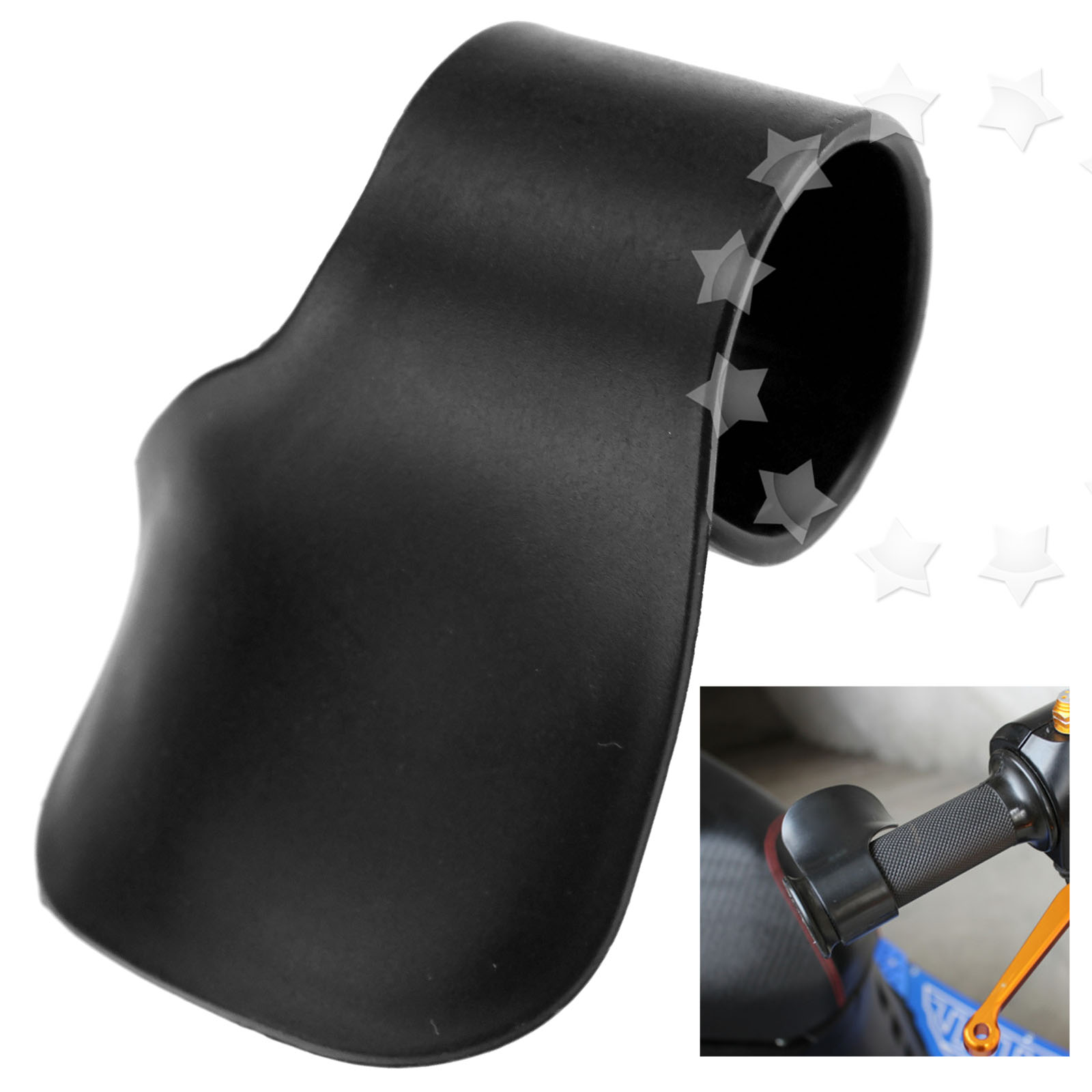 Cruise Control Grip : Quality motorcycle motorbike throttle aid clamp cruise