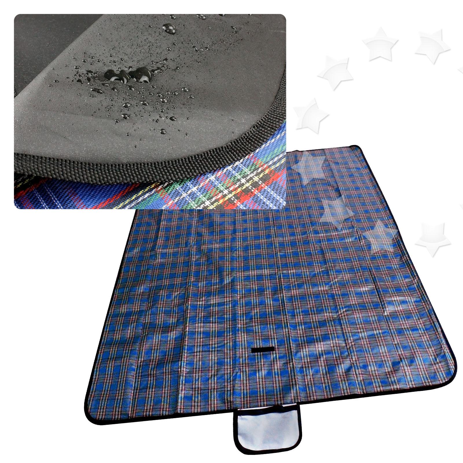 "Picnic Blanket: X Large 57x79"" Picnic Blanket Beach Mat Camping Travel Rug"