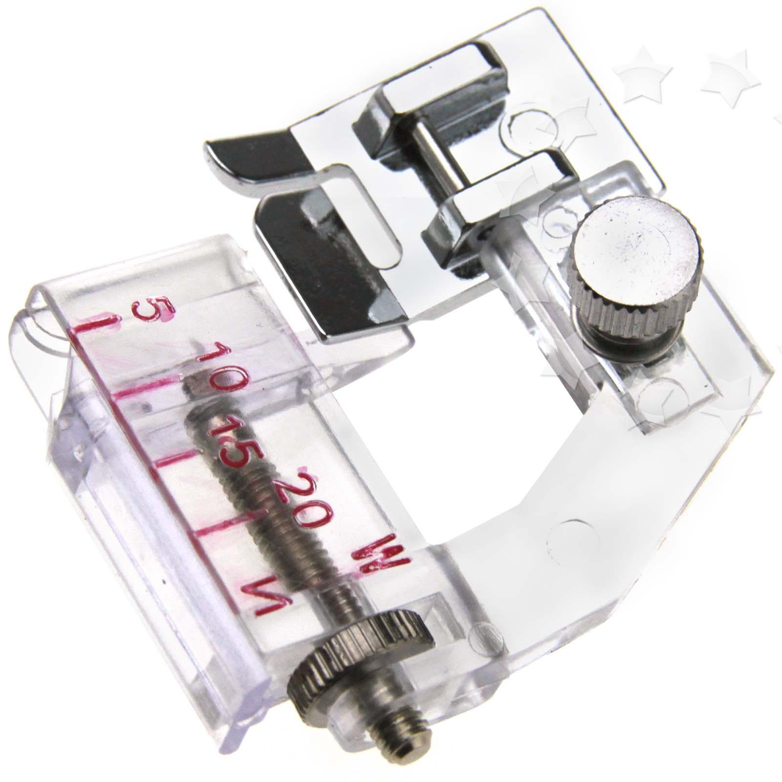 Adjustable Bias Sewing Machine Presser Foot Tape Binding