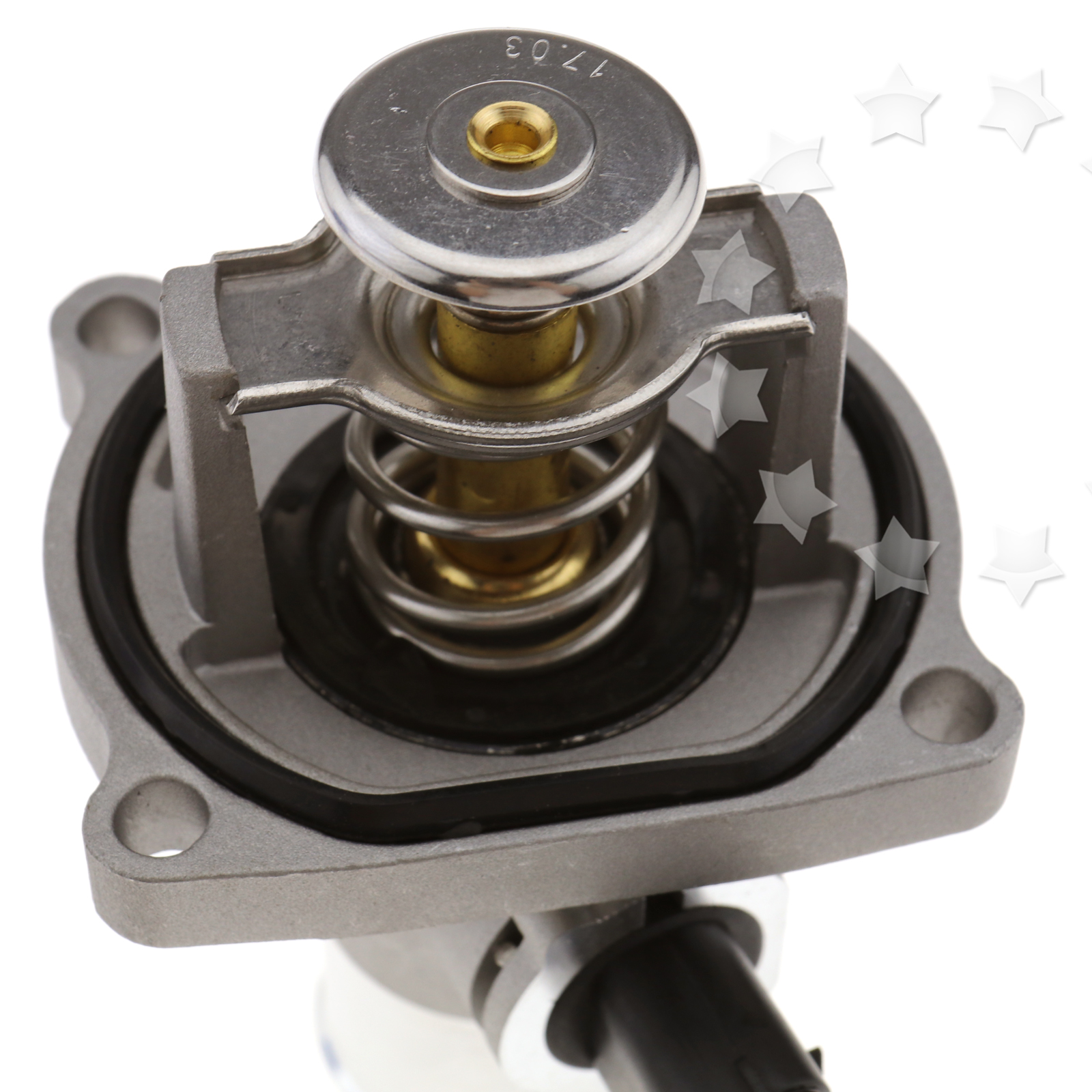 Engine coolant thermostat for vauxhall astra g h