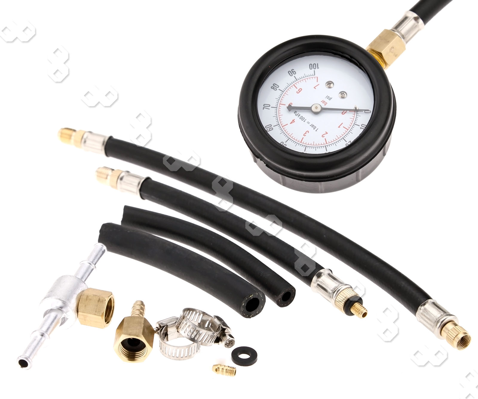 Fuel injection pump pressure tester injector test
