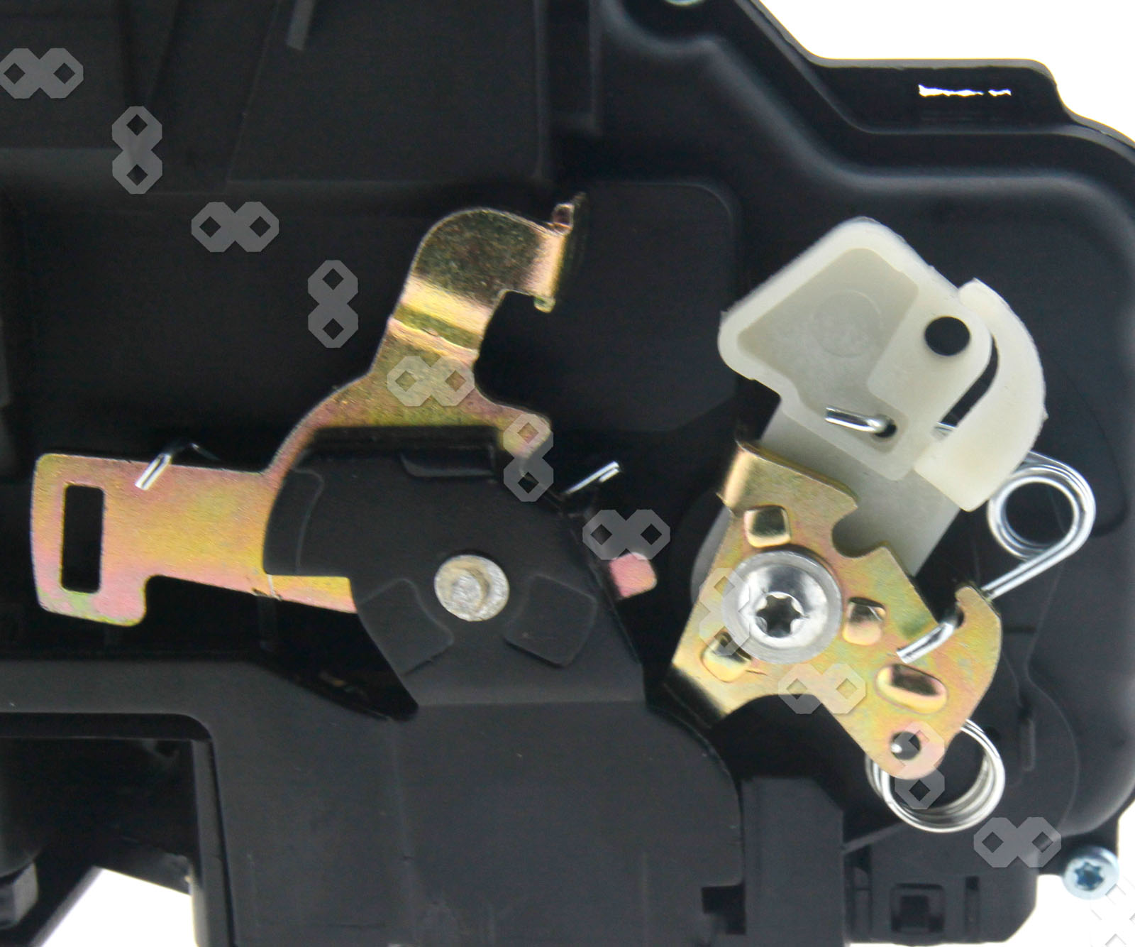 Front Right Driver Side Door Lock Control Mechanism For