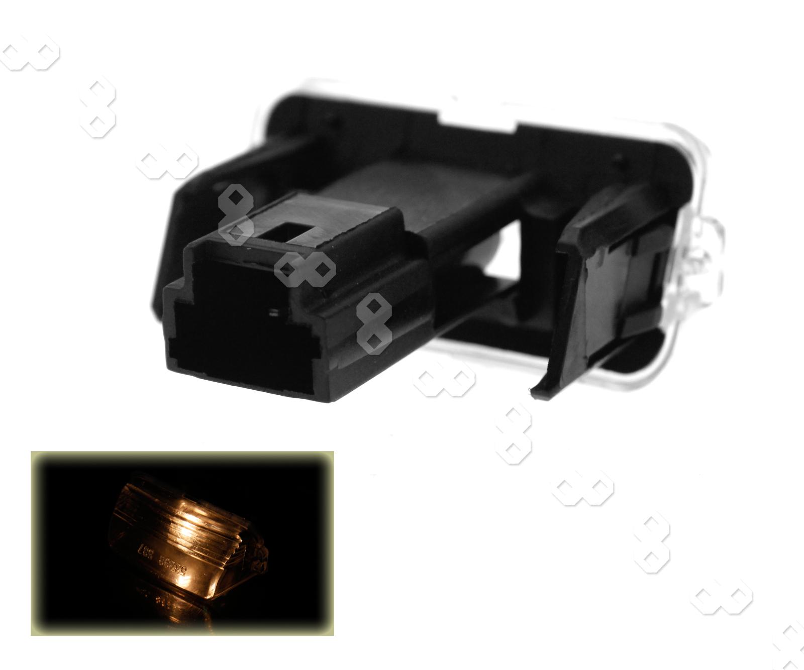 2 pieces car rear number plate light lamp fit for citroen c3 picasso berlingo ebay. Black Bedroom Furniture Sets. Home Design Ideas