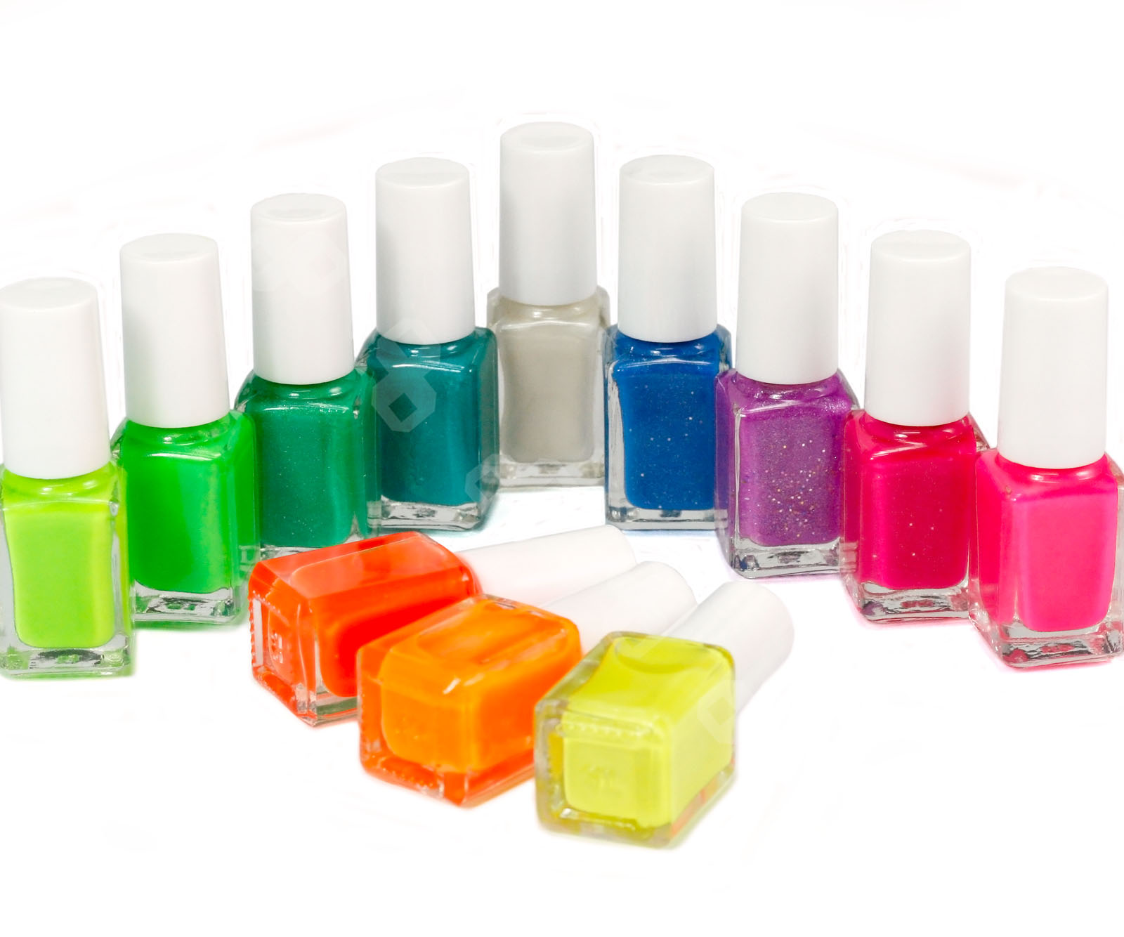 Fluorescent Neon Pink Nail Polish: 12 Colors 7ml Fluorescent Neon Nail Art Polish Glow In
