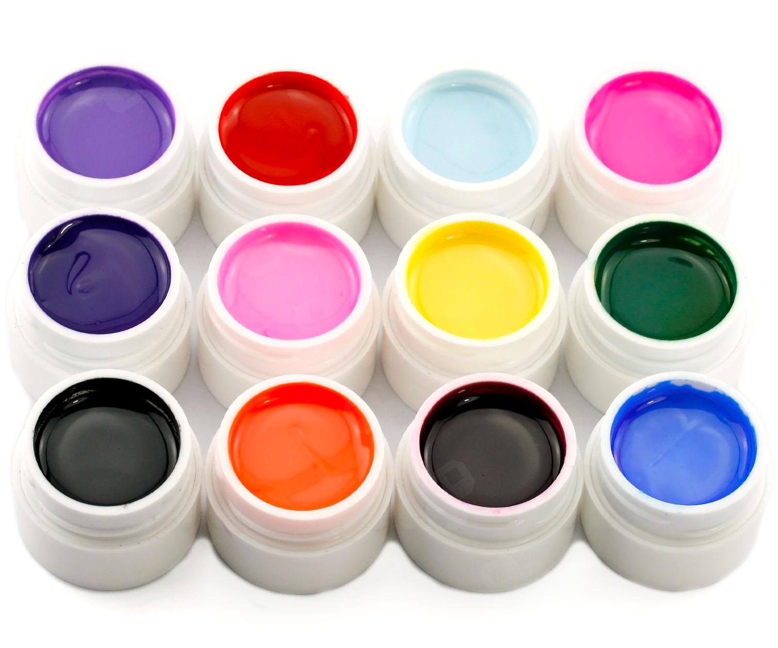 new 28 uv nail art gel set pure sparkle color uv builder nail tips gel set uk ebay. Black Bedroom Furniture Sets. Home Design Ideas