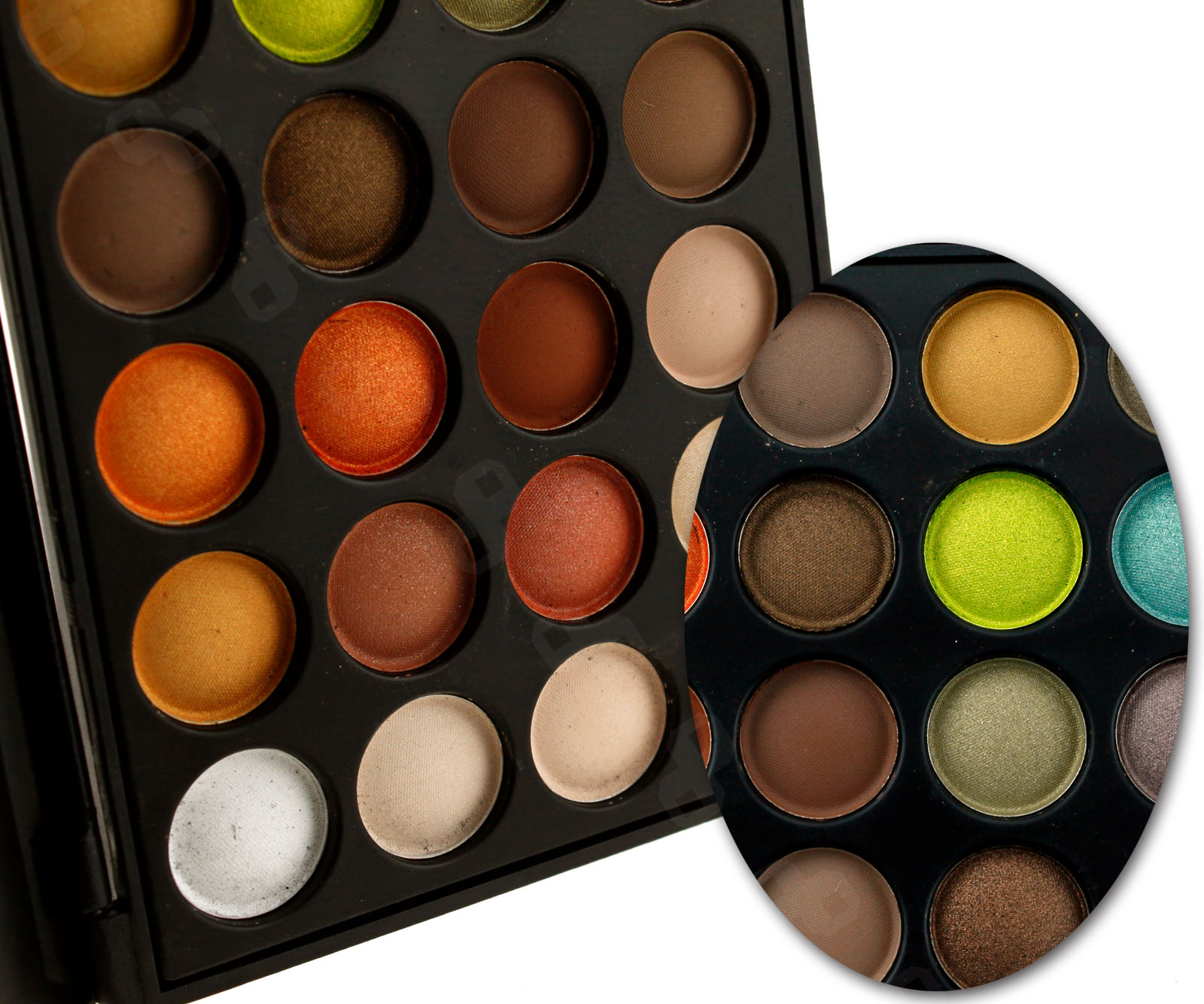 Professional neutral cool style makeup cosmetic 40 colors for Cool neutral color palette