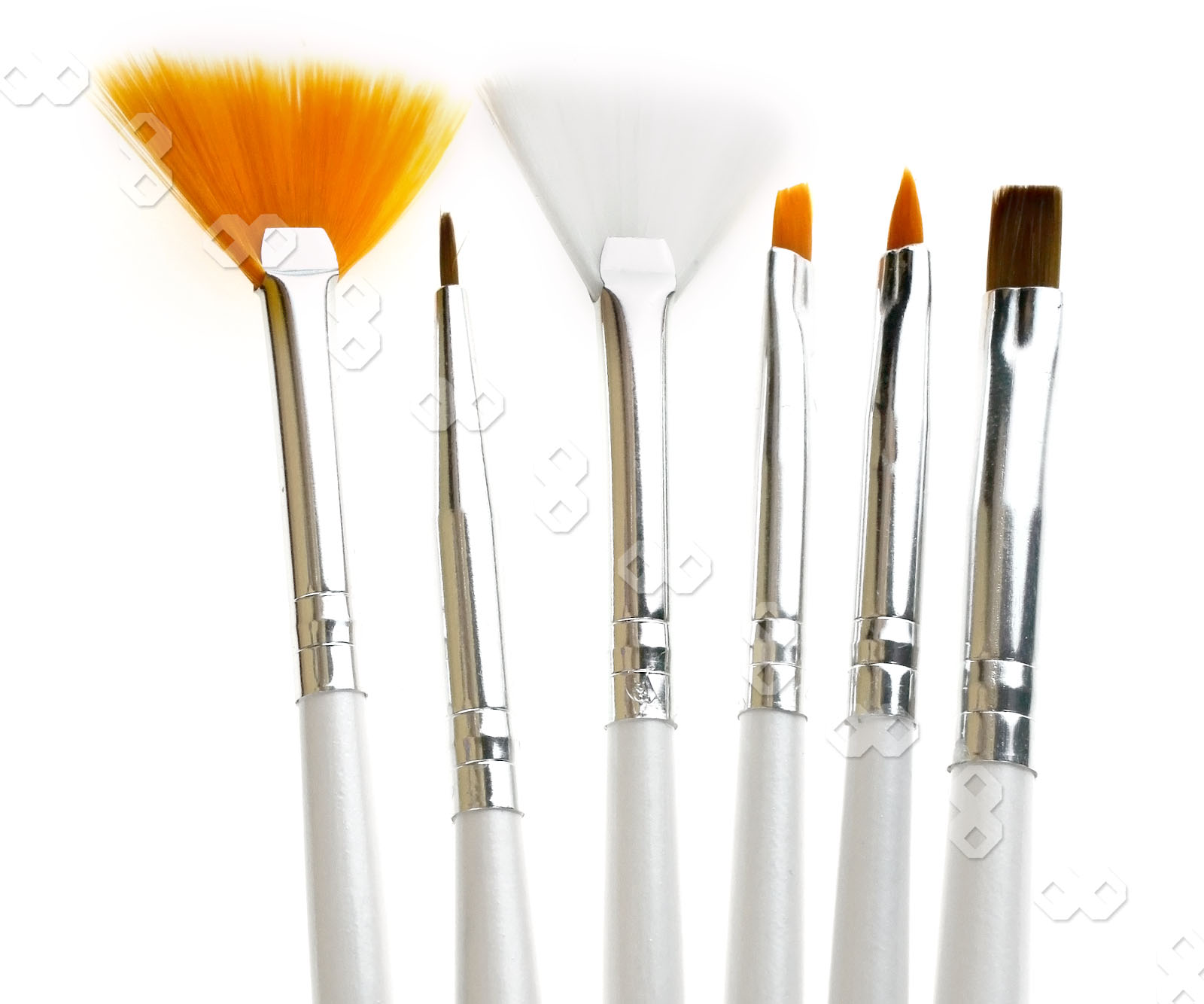 15 pcs nail art design brush set painting pen white beauty for Avon nail decoration brush