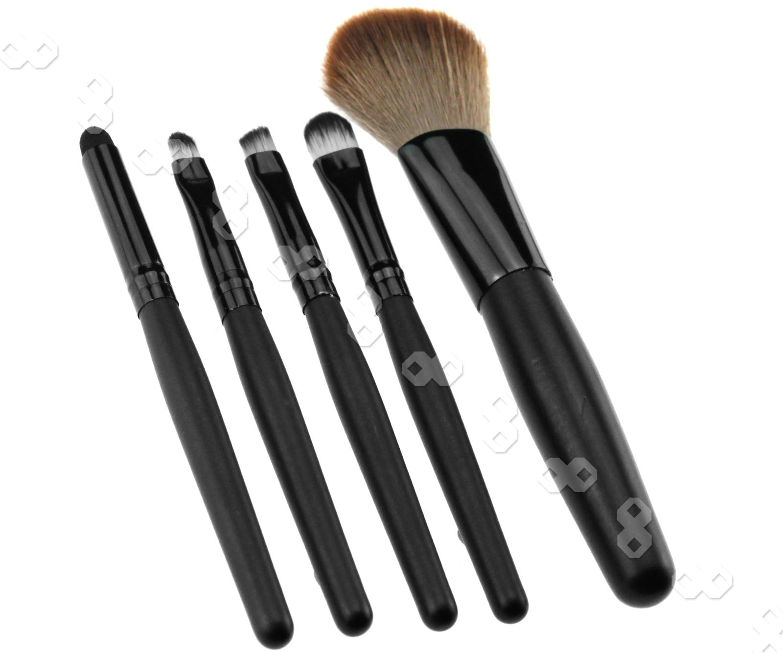 5pcs Professional Cosmetic Make UP Brush With Pink BAG ...