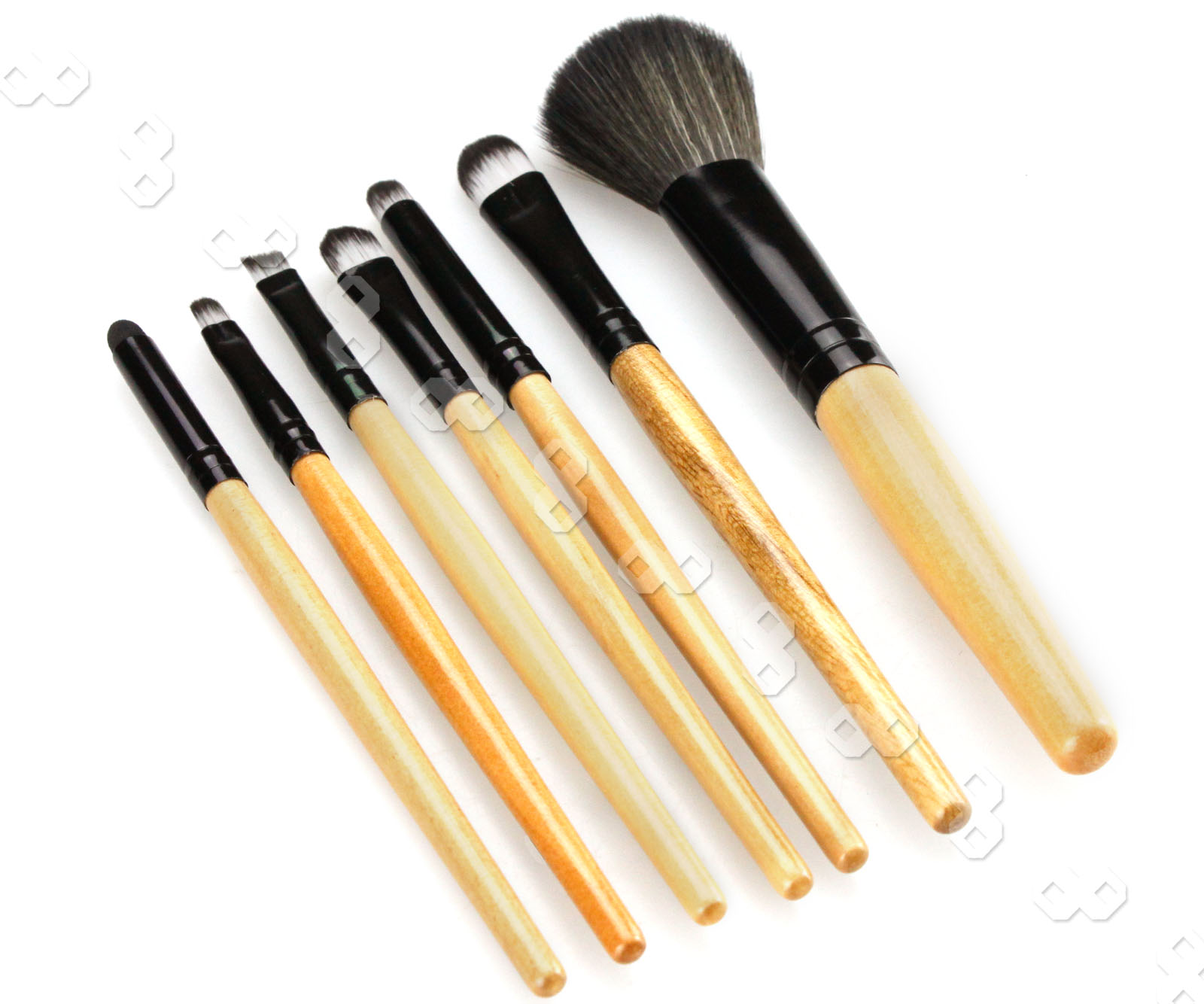 7pcs professional Cosmetic Make Up Brush with white bag ...