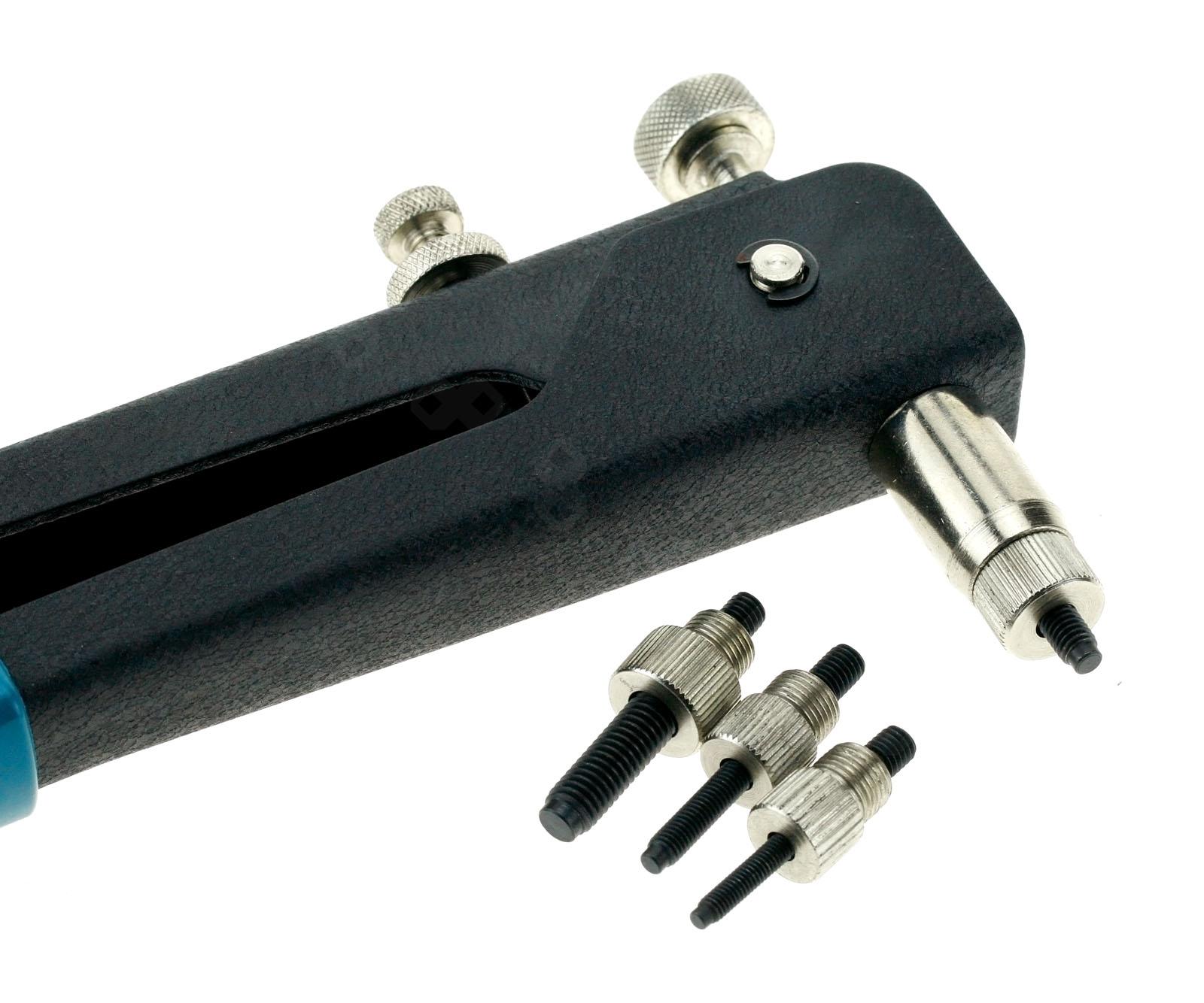 Sheet Metal Rivet Tool : Mm threaded rivet nut nutserts rivnut insert setting