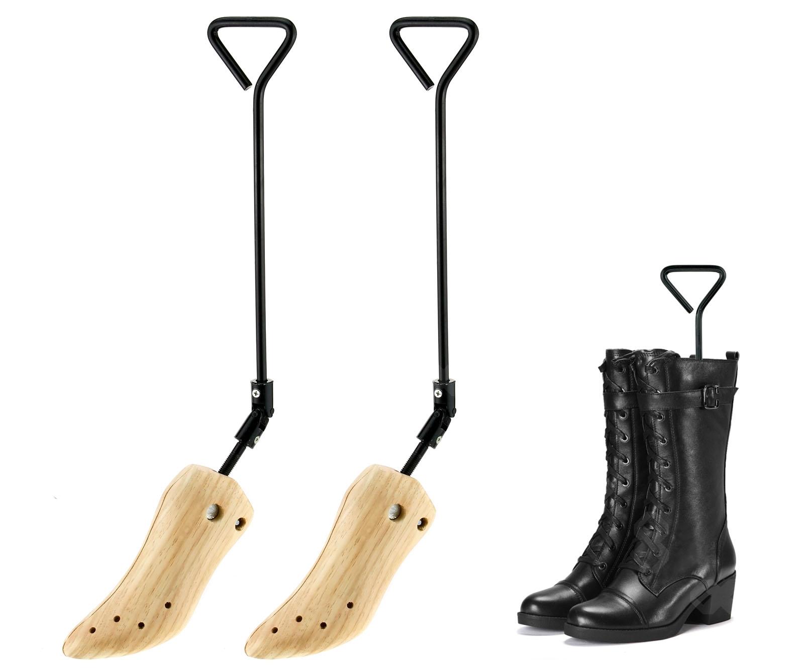 boot shaper wood boot shoe tree stretcher wooden uk size 4