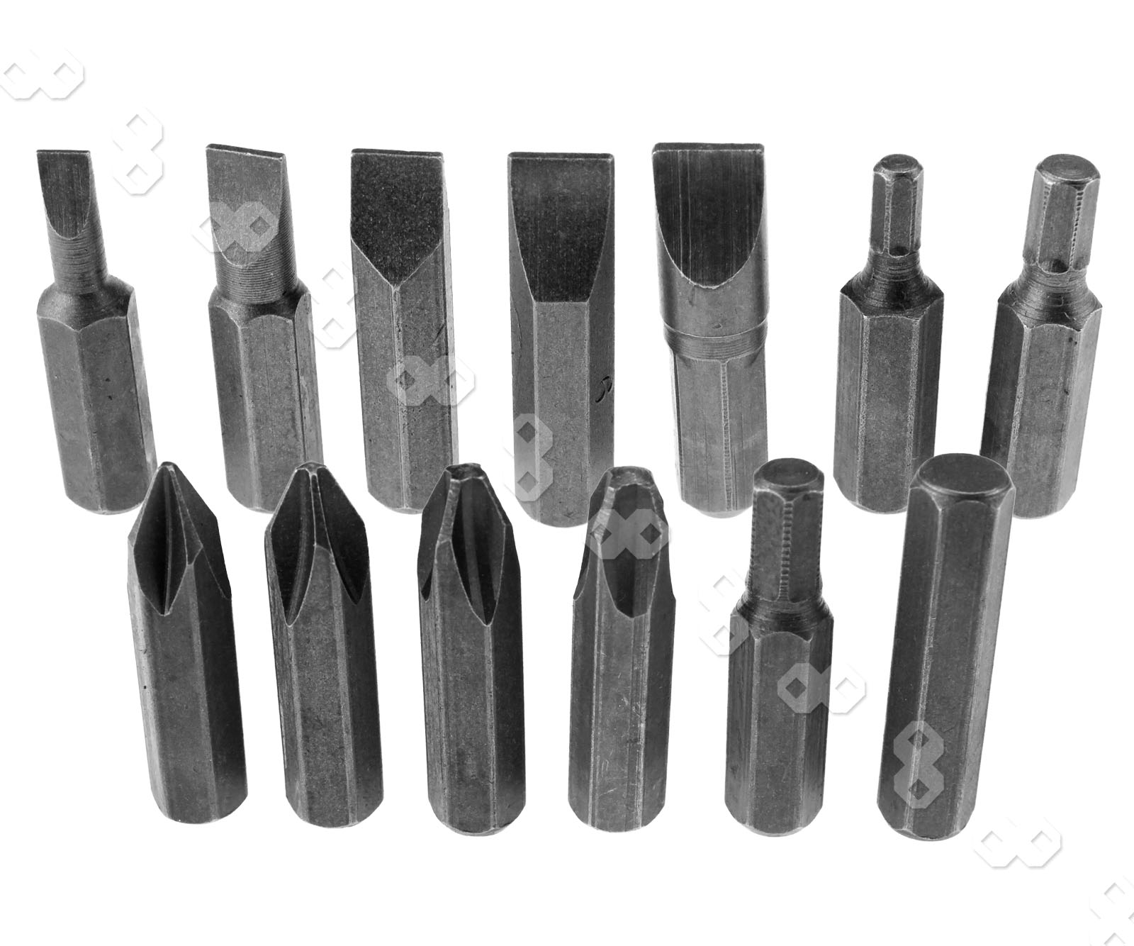 promotion 13pcs impact screwdriver philips flat hex bits. Black Bedroom Furniture Sets. Home Design Ideas