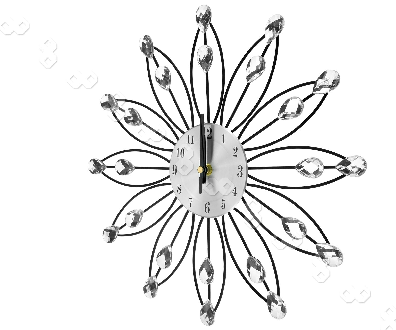 Promotion 33cm Handcrafted Diamante Jewelled Crystal Daisy