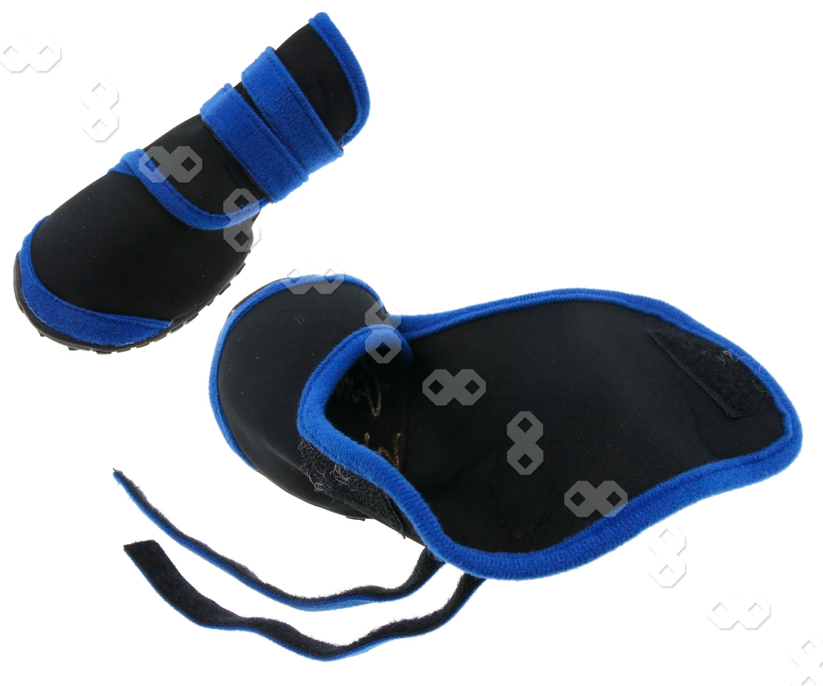 4pcs anti slip pet waterproof shoes protective