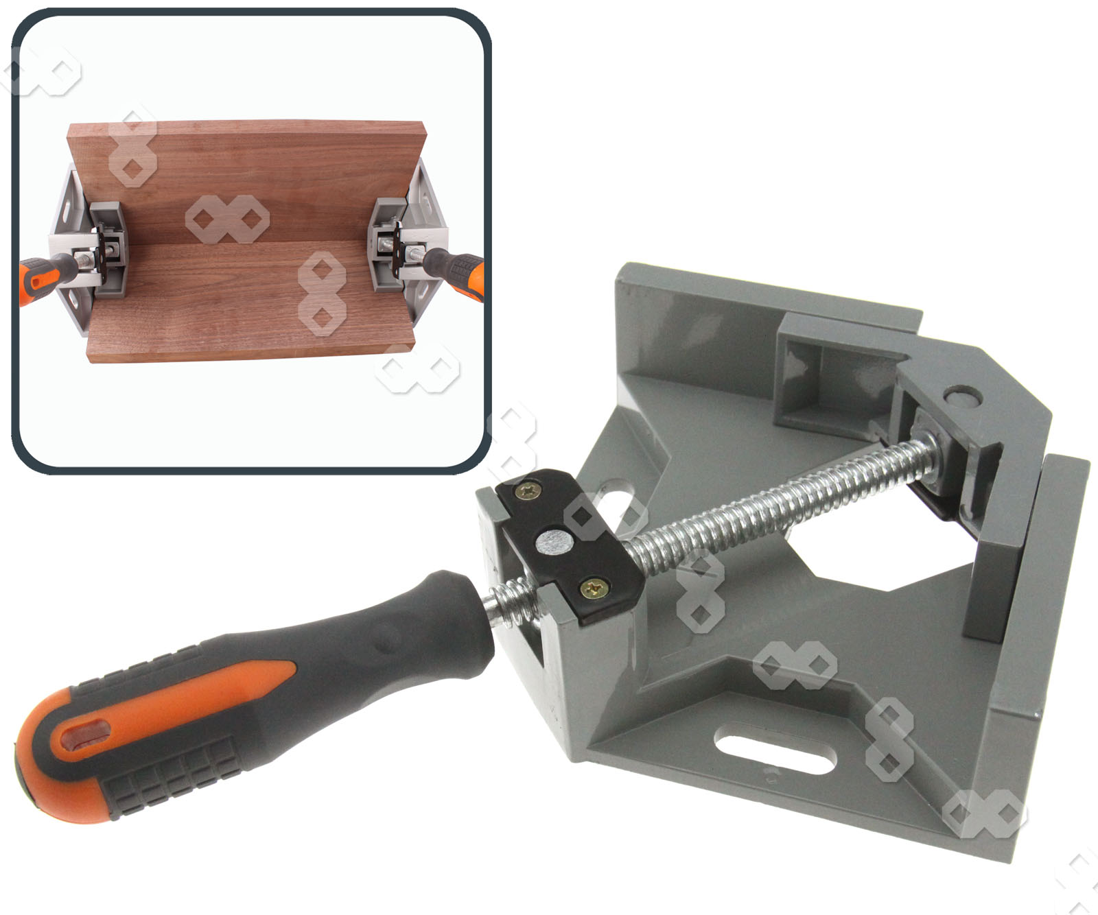 ° corner clamp right angle wood metal welding
