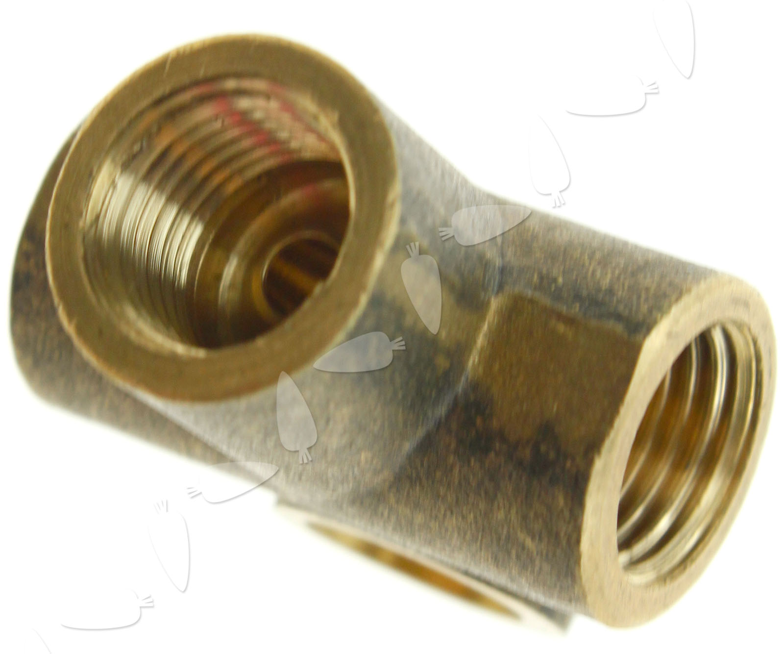 Mm t tee piece clutch brake pipe brass way fitting