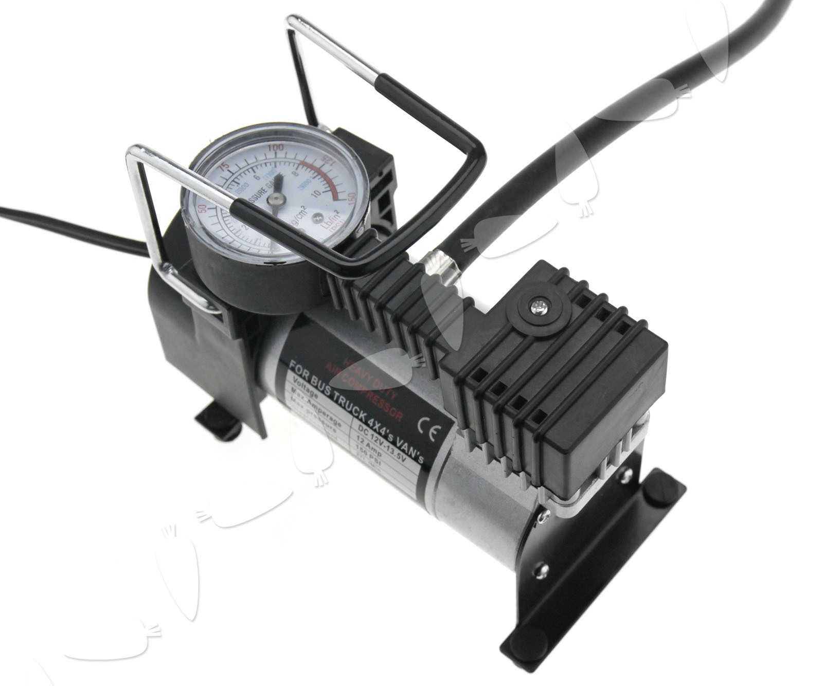 portable auto tire inflator car tyre air compressor pump 12v 150psi ebay. Black Bedroom Furniture Sets. Home Design Ideas