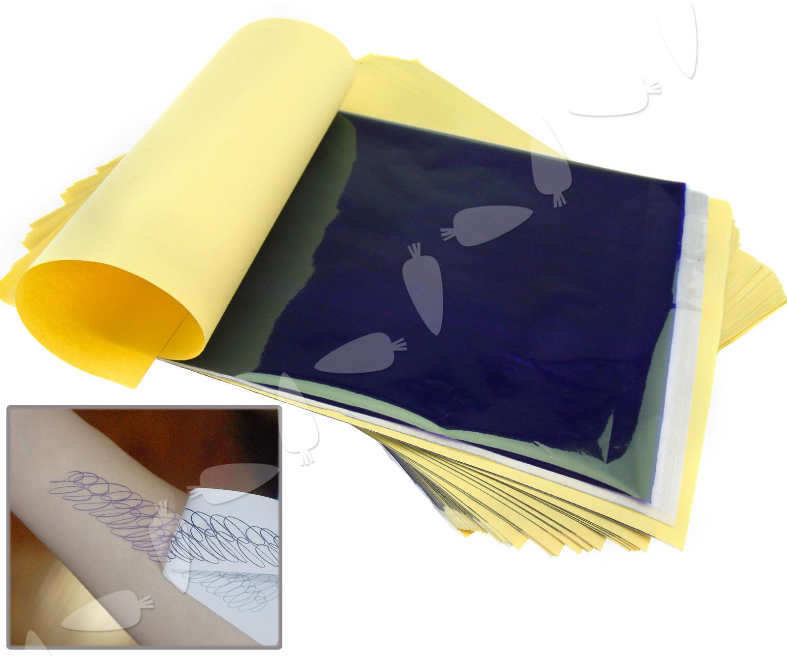 tattoo transfer paper Professional tattoo transfer copier thermal stencil paper a5 & a4 printer  machine  maquiagem tattoo copy machine lowest price a4 transfer paper  black.