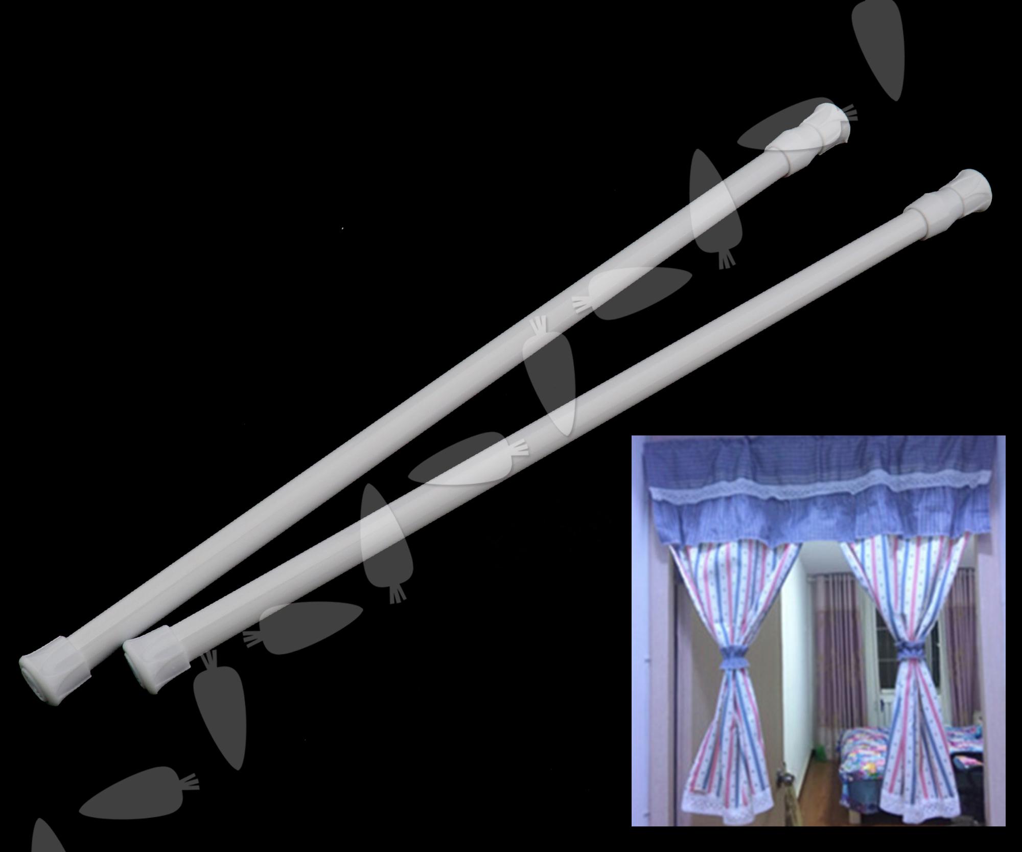 Extendable curtain rod