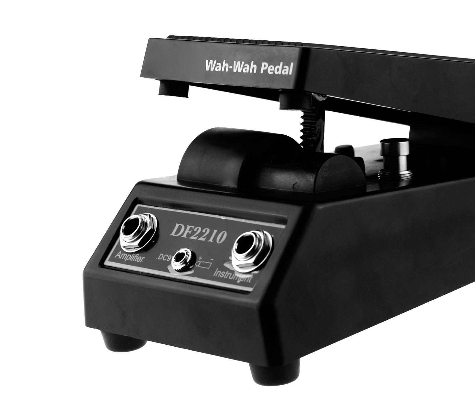 wah wah electric guitar effect fx pedal music black ebay. Black Bedroom Furniture Sets. Home Design Ideas