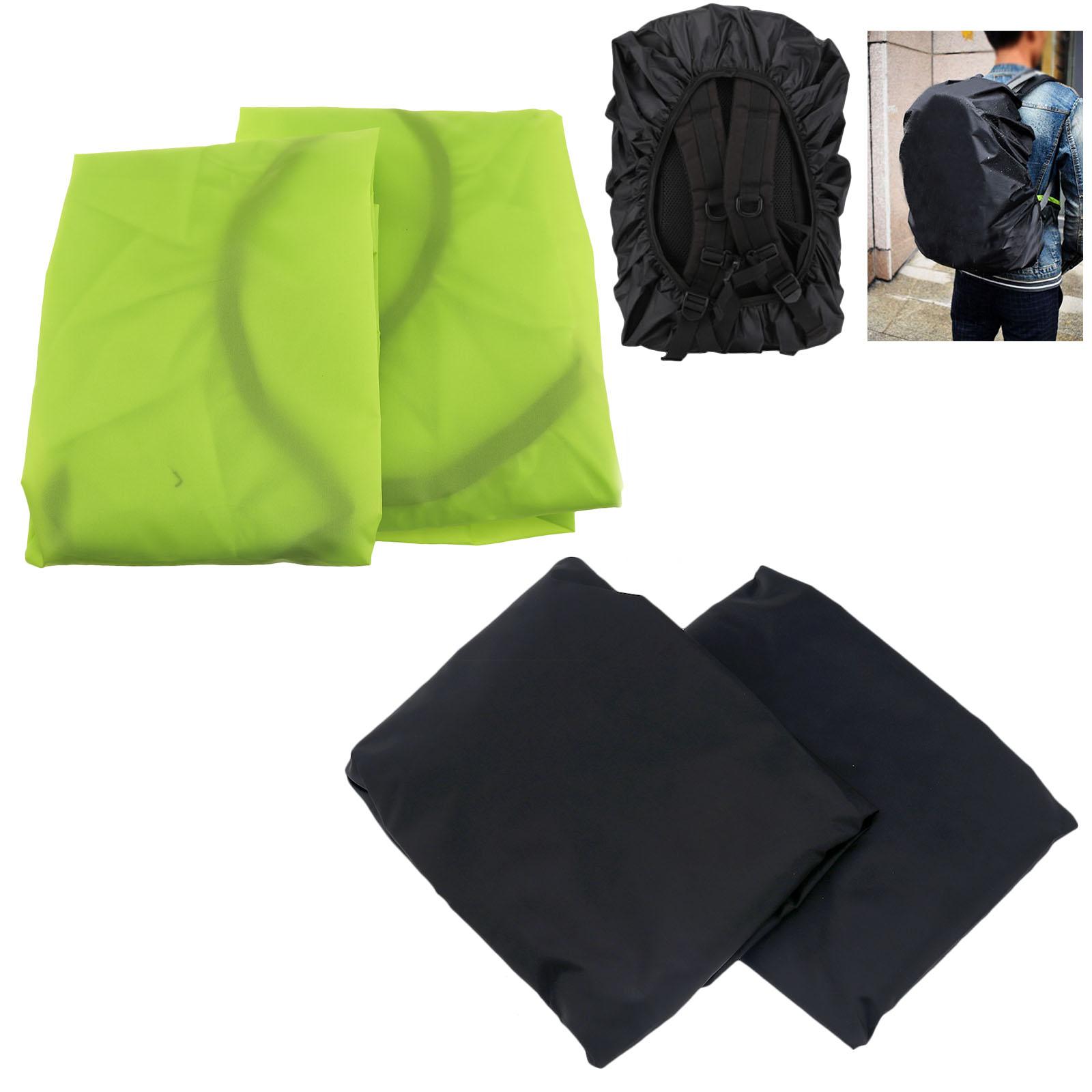 2x Wasserdicht Schulranzen Rucksack Regenhaube Regenschutz Regenhülle 30L-40L