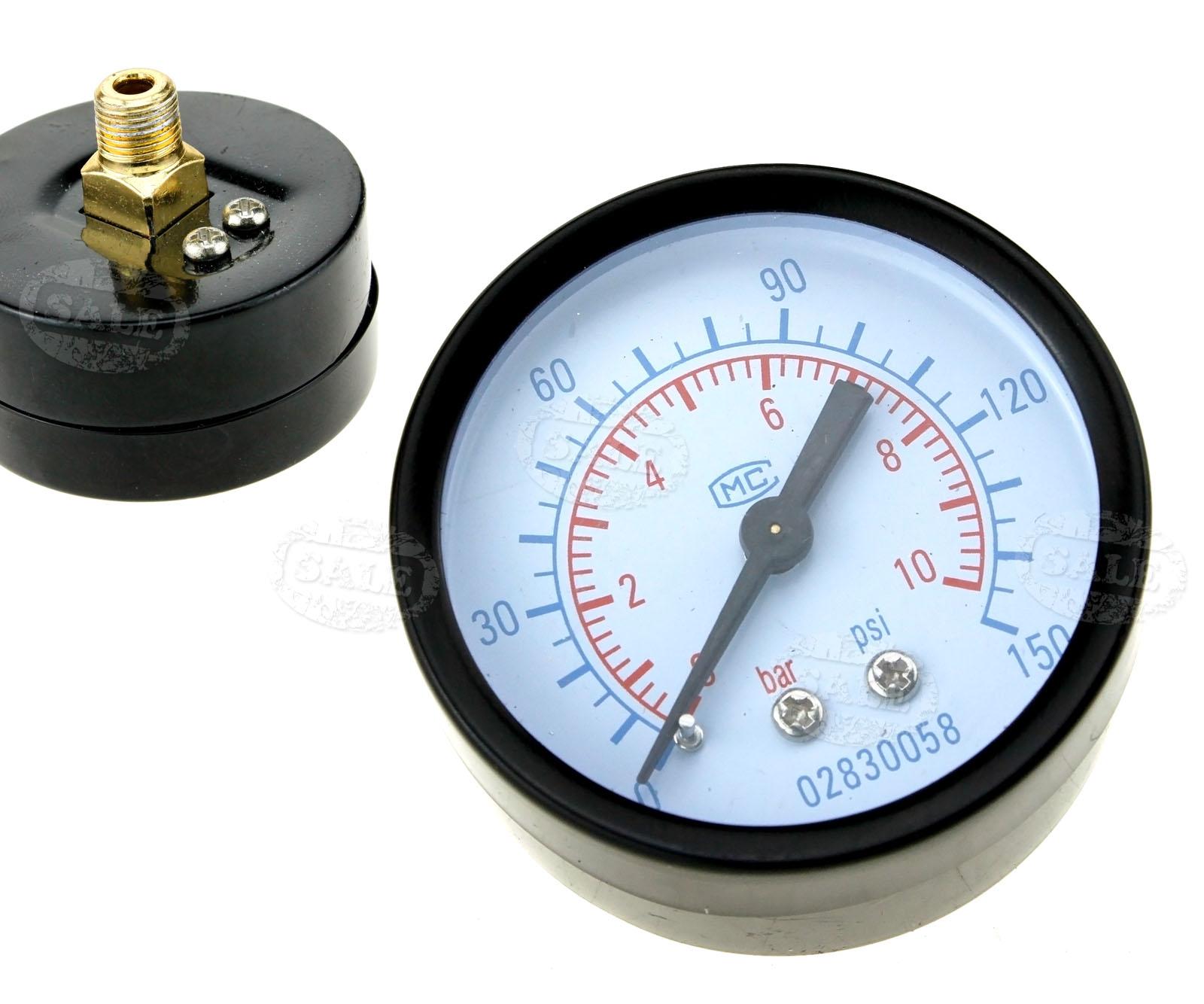 150 psi 10 bar 1 4 air water compressor trap regulator wall bracket w gauge ebay. Black Bedroom Furniture Sets. Home Design Ideas