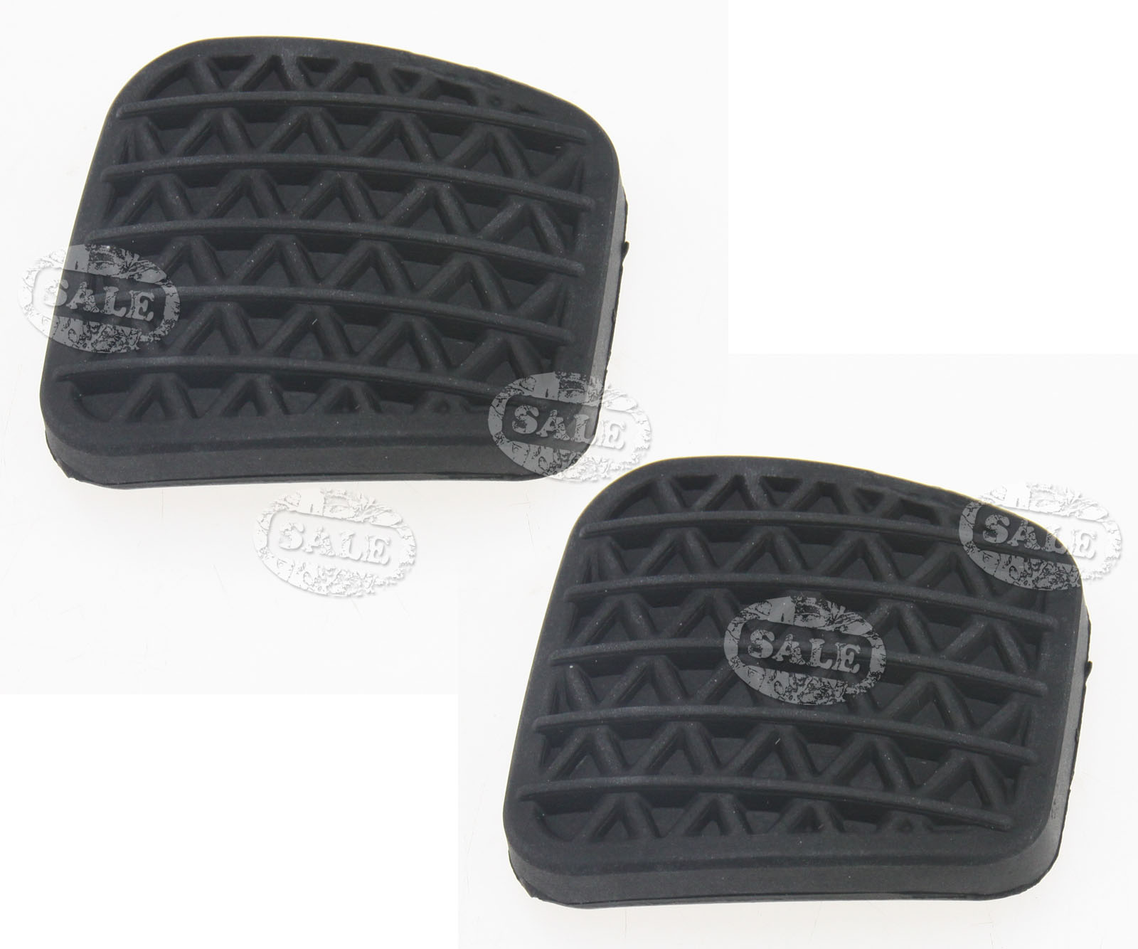 Clutch Pad Material : Pcs clutch or brake pedal pad rubber cover black for