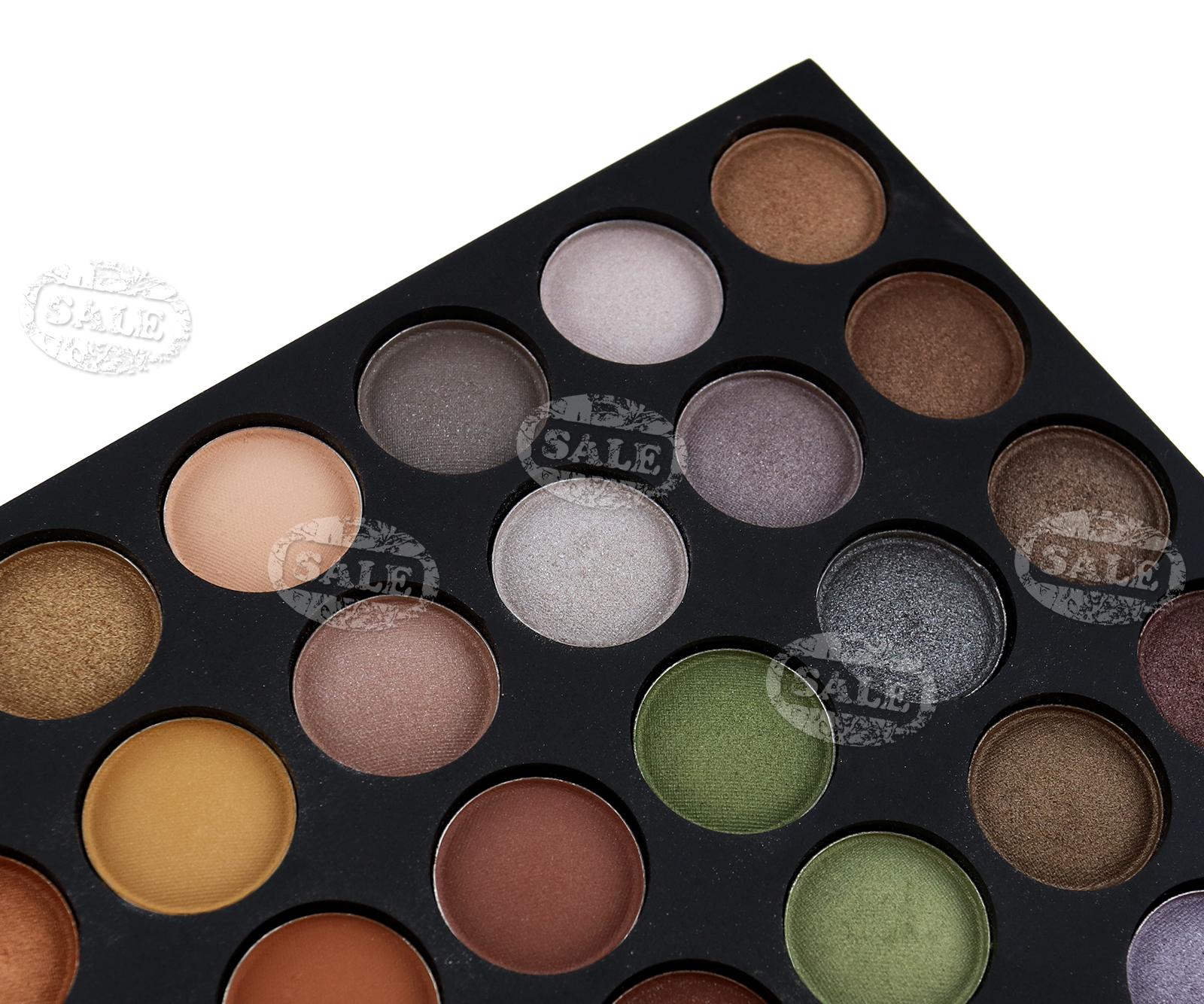 Neautral Colors: 120 Warm Neutral Colors Makeup Eyeshadow Palette L191