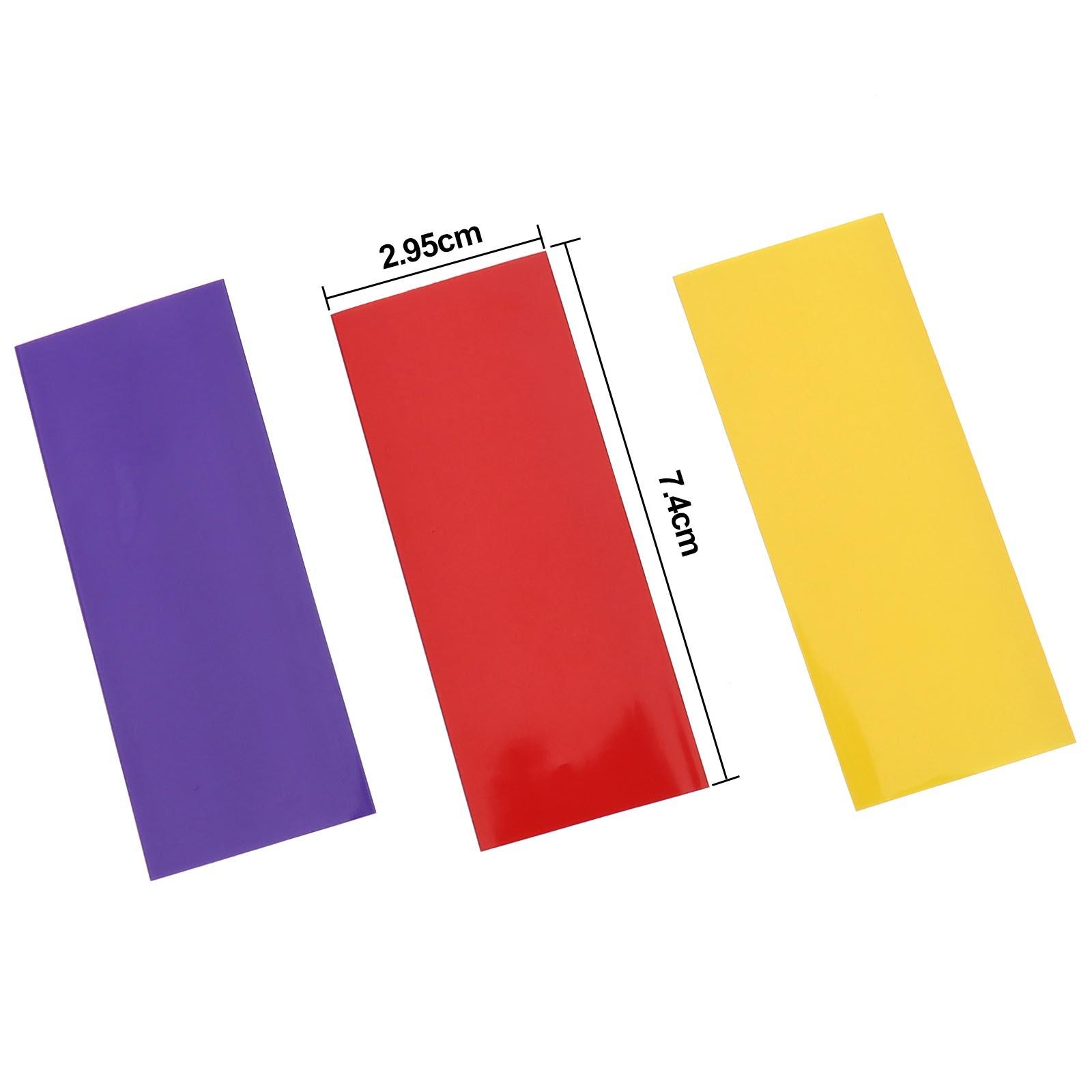 360tlg 12 Farben 7,4x2,95cm Schrumpfschlauch Sortiment Schrumpfschläuche Set