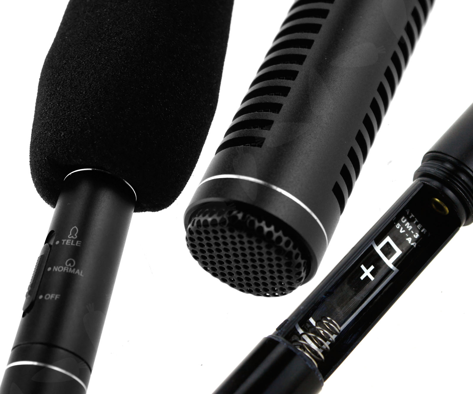 how to set up condenser mic