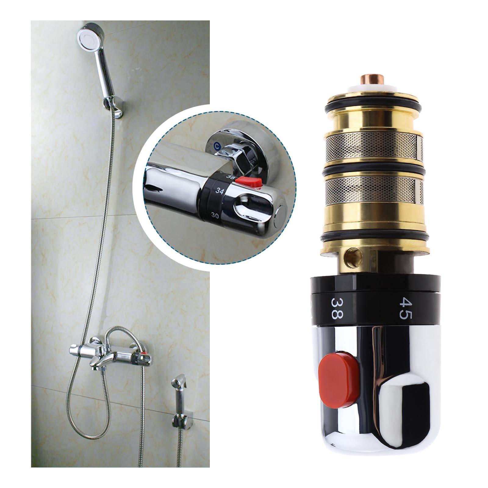Adjustable Thermostatic Bath Mixer Tap Taps Shower Valve