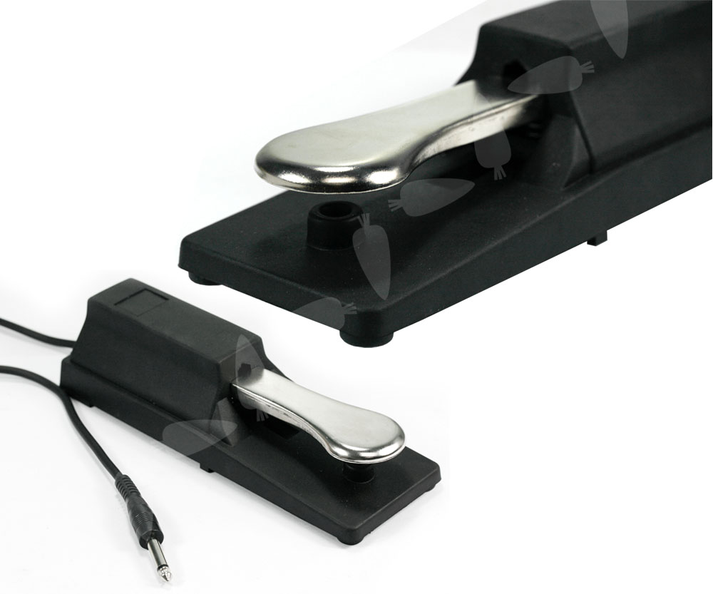 piano type for yamaha digital casio keyboard sustain effect foot pedal ebay. Black Bedroom Furniture Sets. Home Design Ideas