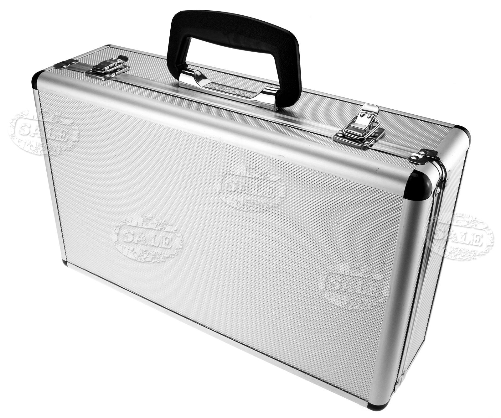 koffer mit schaumstoff universalkoffer werkzeugkoffer allzweckkoffer aluminium ebay. Black Bedroom Furniture Sets. Home Design Ideas