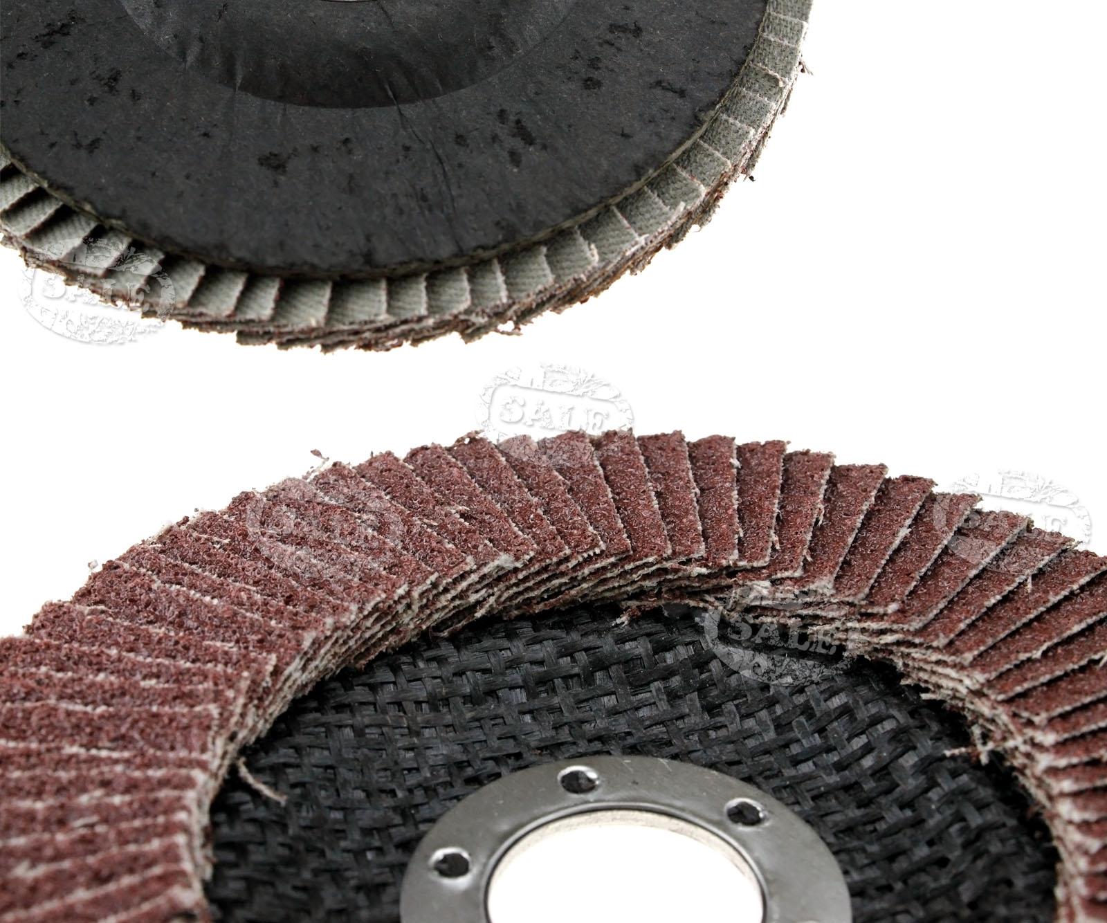 10 x f cherschleifscheiben 40g 15mm fuer winkel schleifer ebay. Black Bedroom Furniture Sets. Home Design Ideas