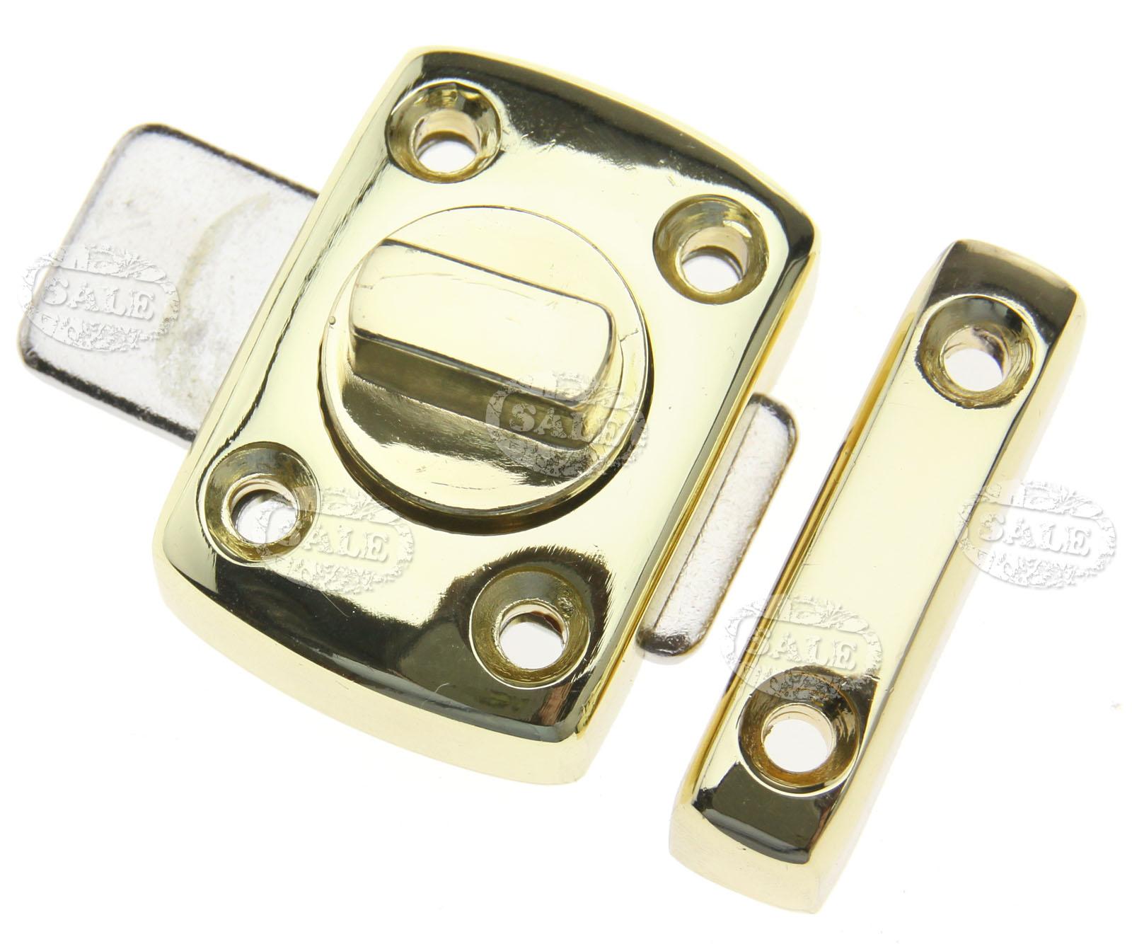 Bathroom Door Latches: Chrome Gold Toilet Catch Bathroom Door Lock Latch Turn